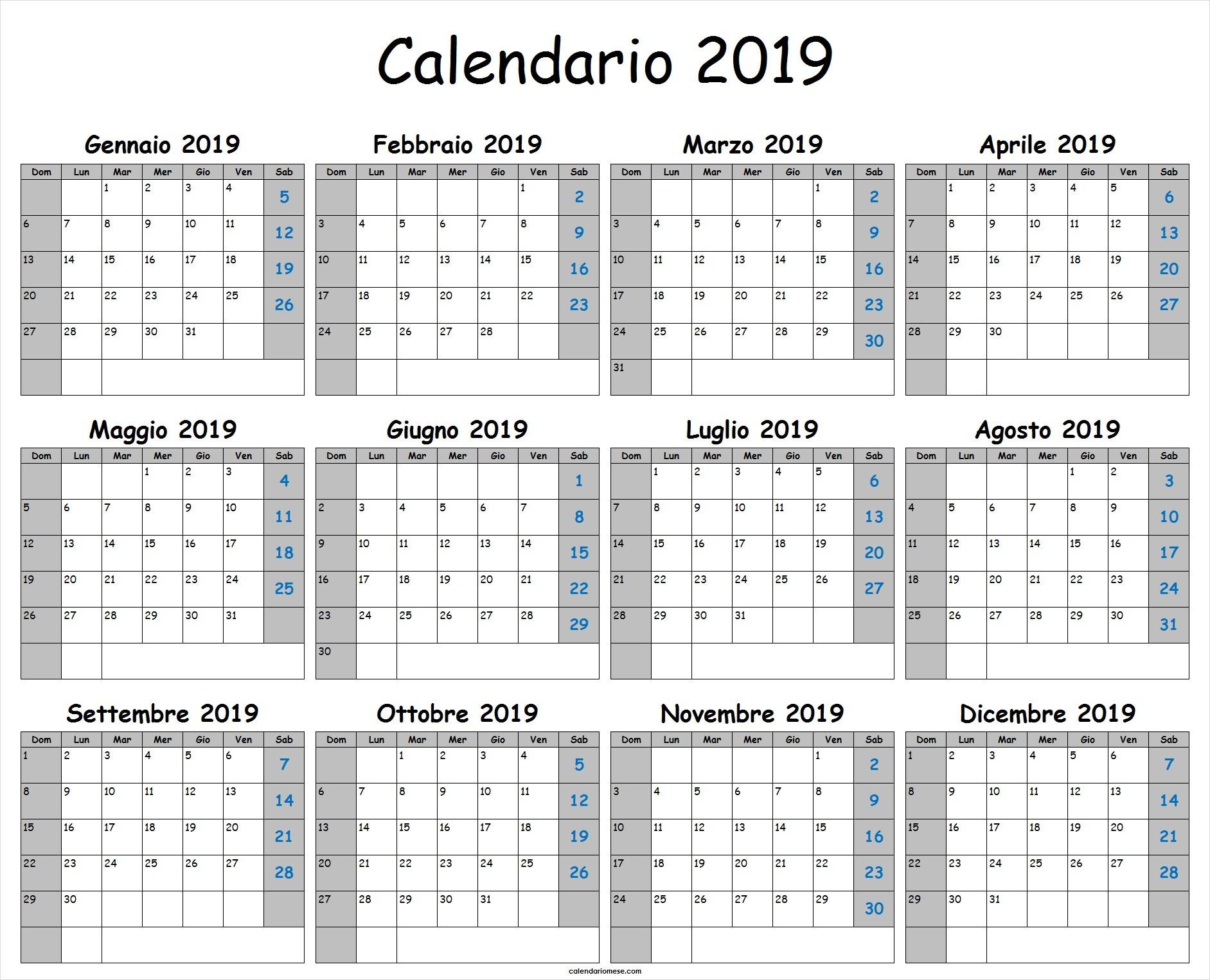 Calendario da stampare calendario da stampare calendario pdf 1883x1526 Turchese da stampare calendario 2019 pdf