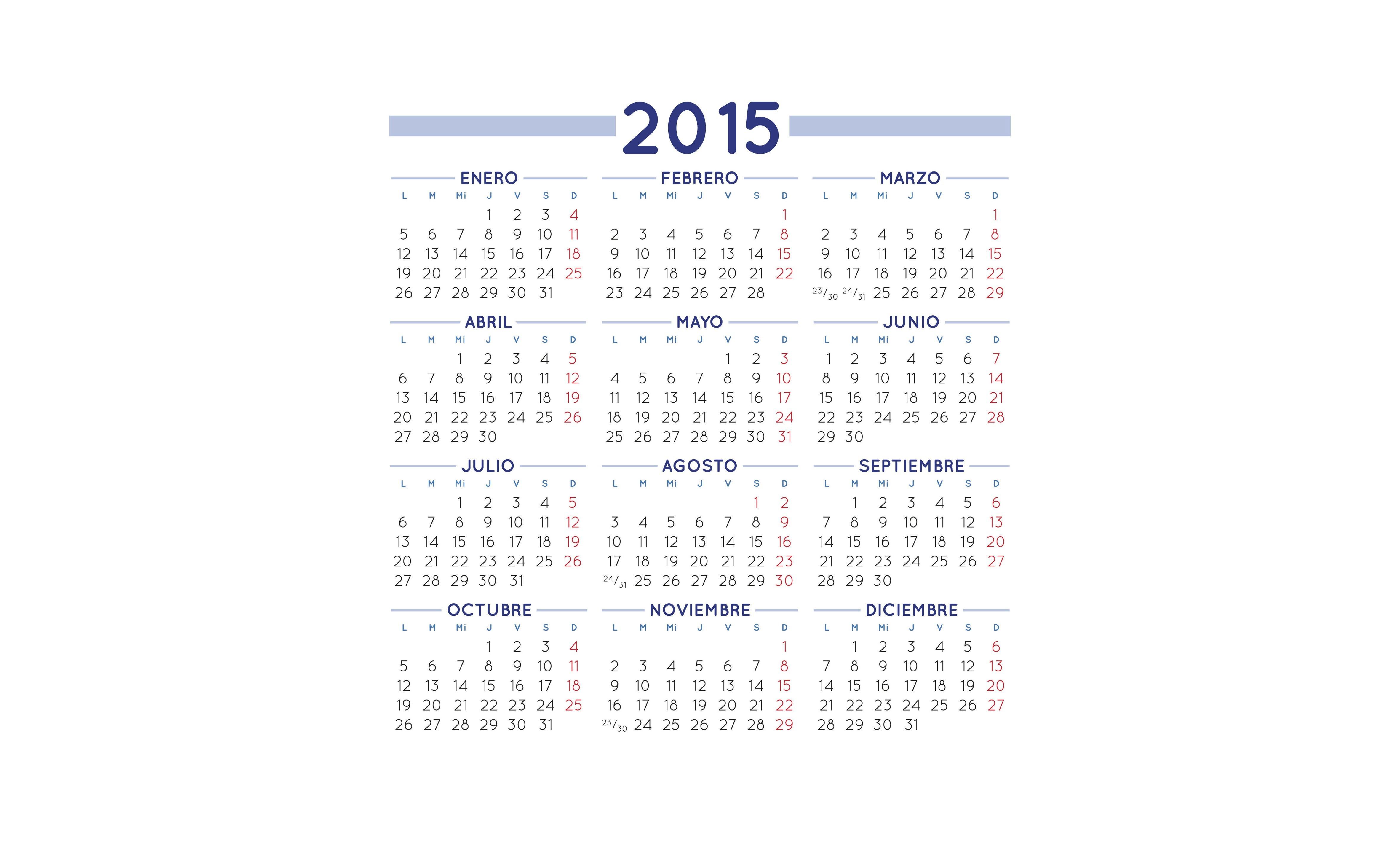 Calendario 2015 12 Abril Calendario 2015