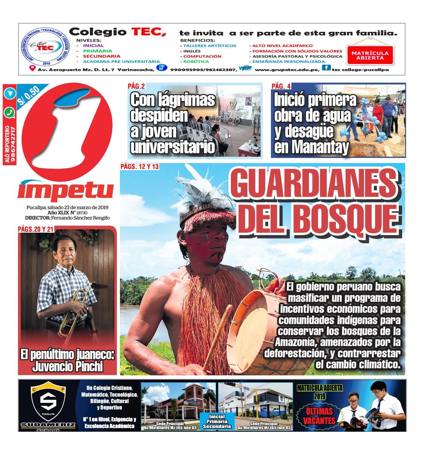 mpetu Pucallpa 23 de marzo de 2019 by Diario mpetu issuu