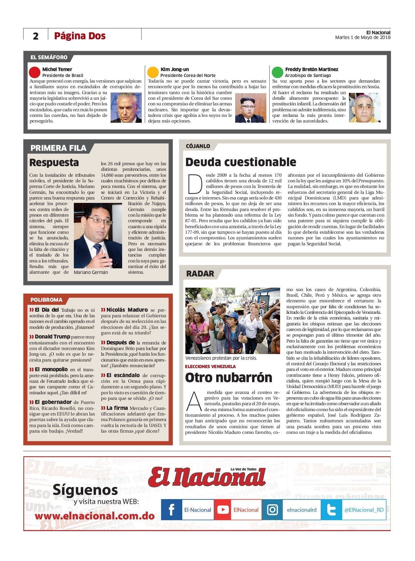 Impreso 01 mayo 18 Pages 1 40 Text Version