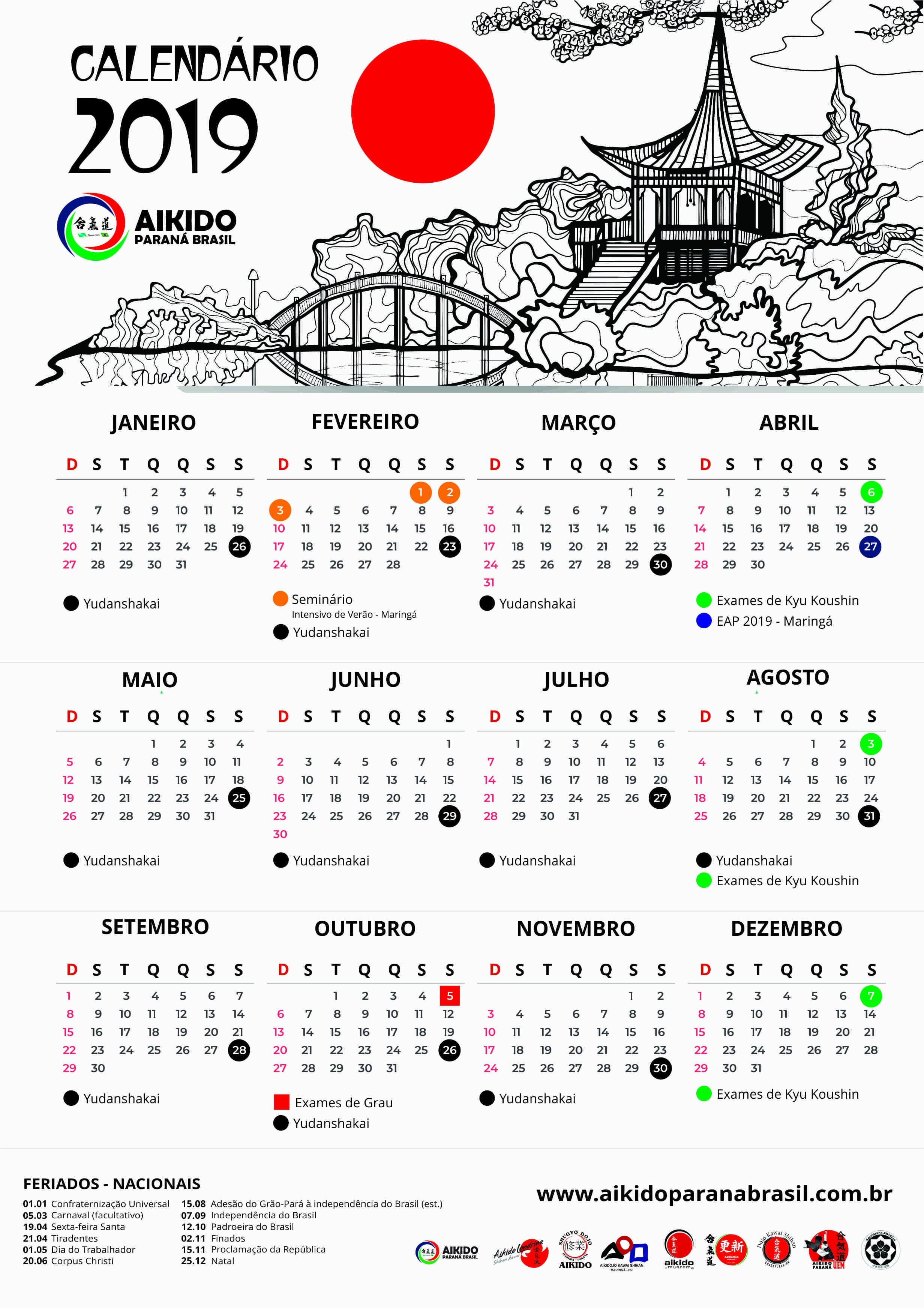 Baixar calendrio aikido paran brasil 2464x3487 Seg 2018 carnaval argentina calendario newspictures