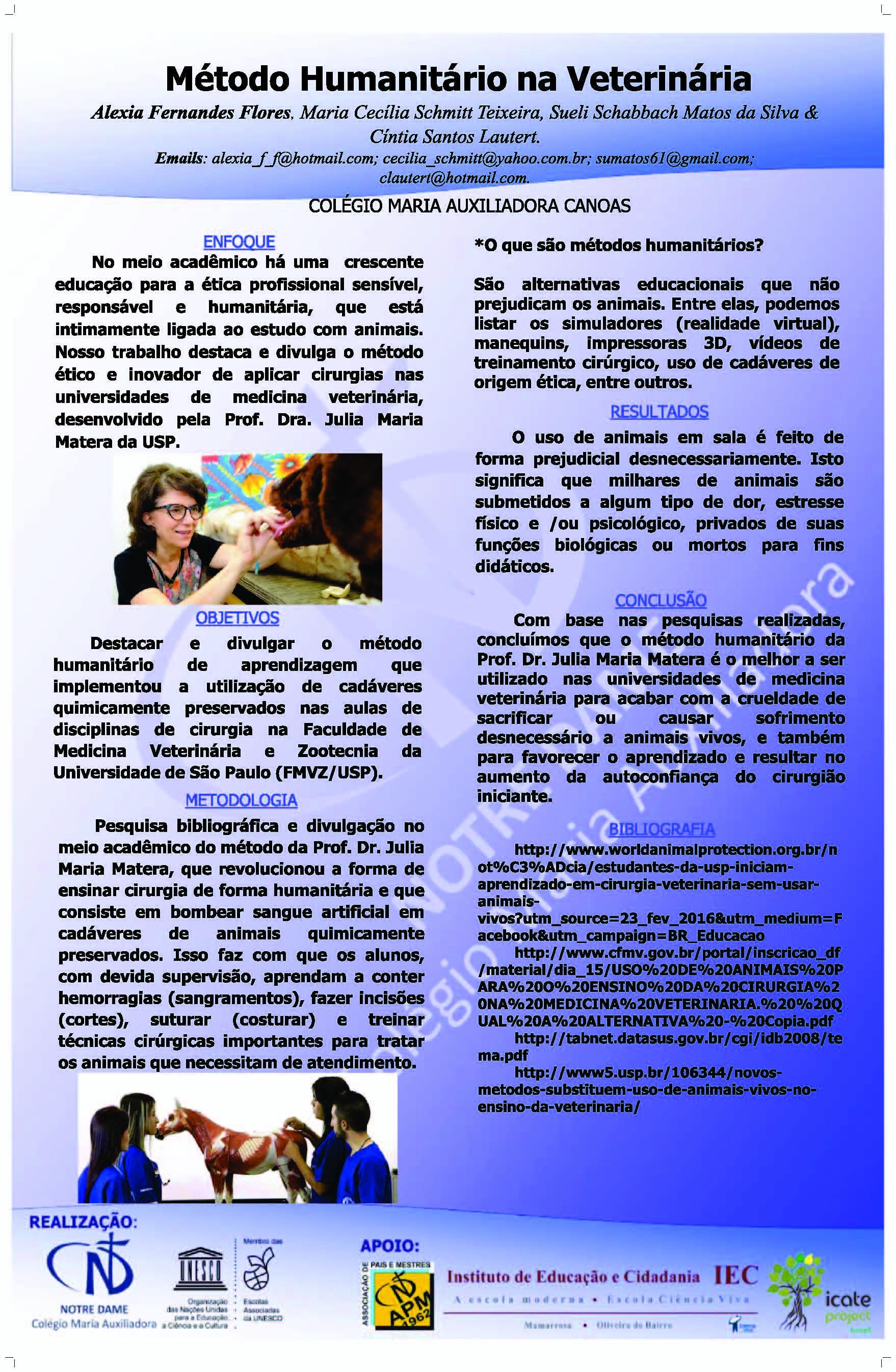 Método Humanitário na Veterinária