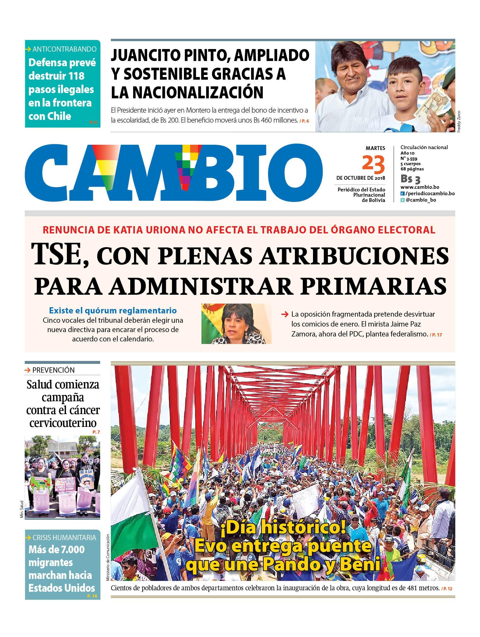 ABI Agencia Boliviana de Informaci³n v2018