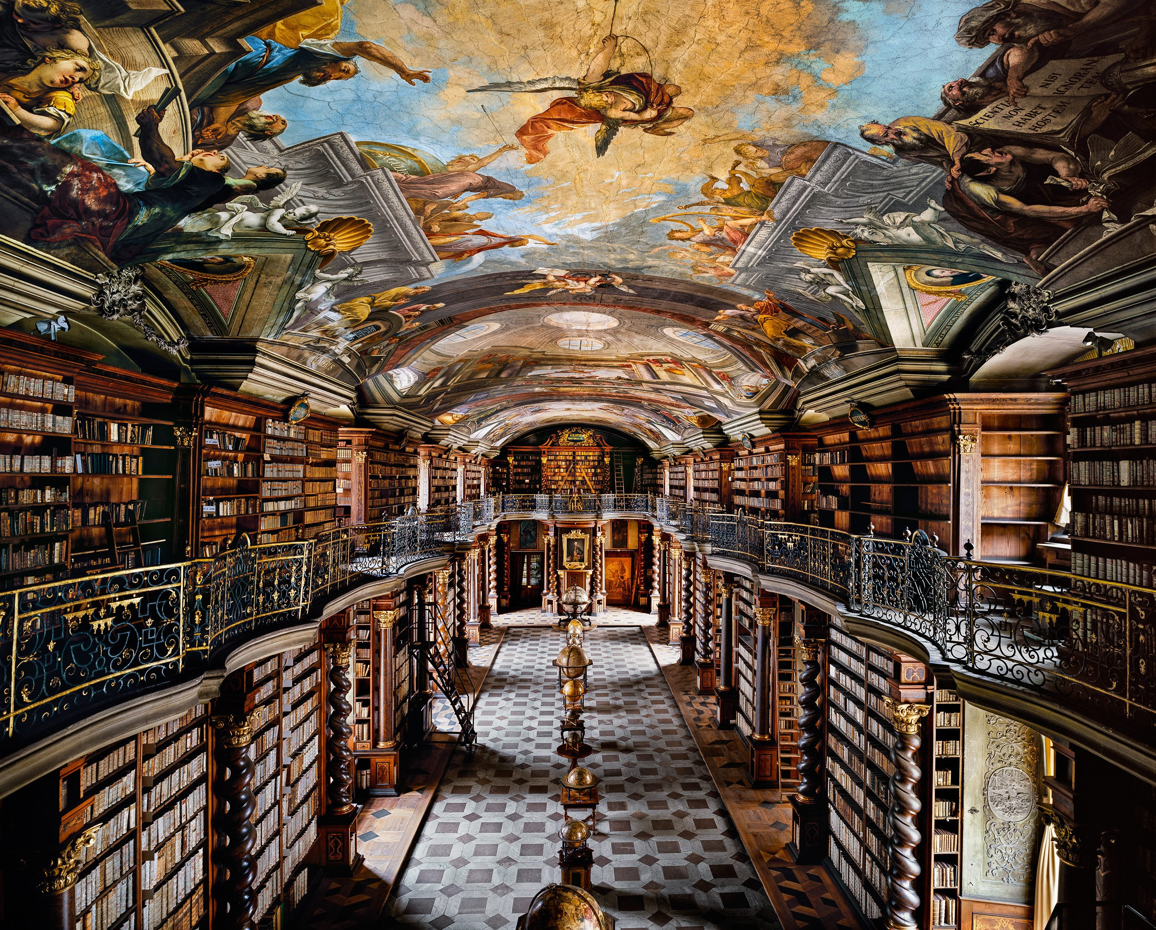 ahmet ertug the national library clementinum prague 2009 diasec 180x224 cm courtesy of elipsis gallery london istanbul