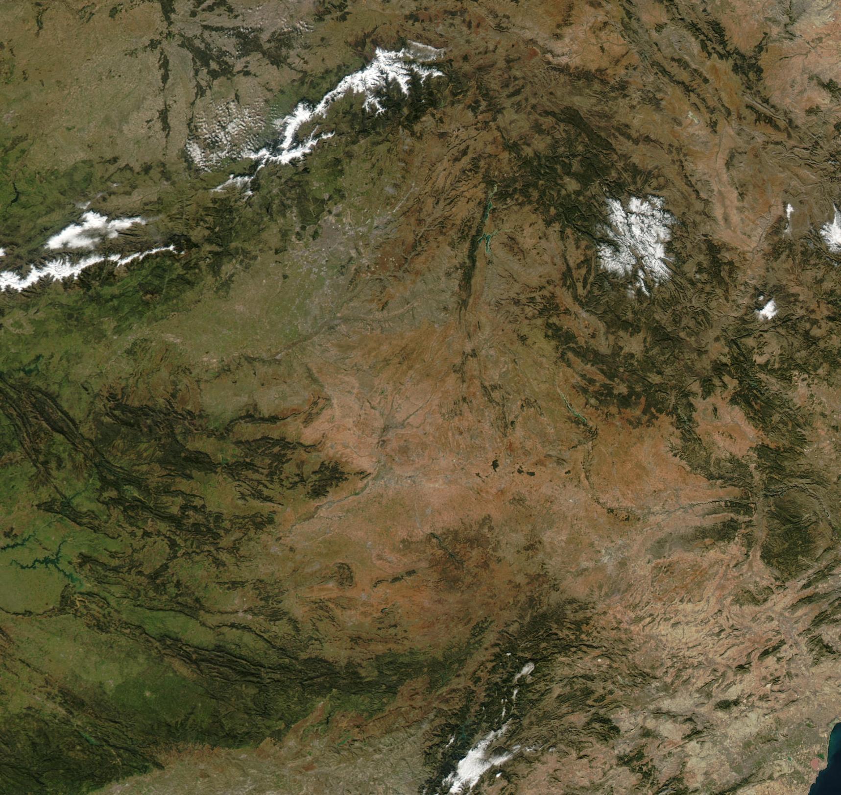Castilla La Mancha NASA