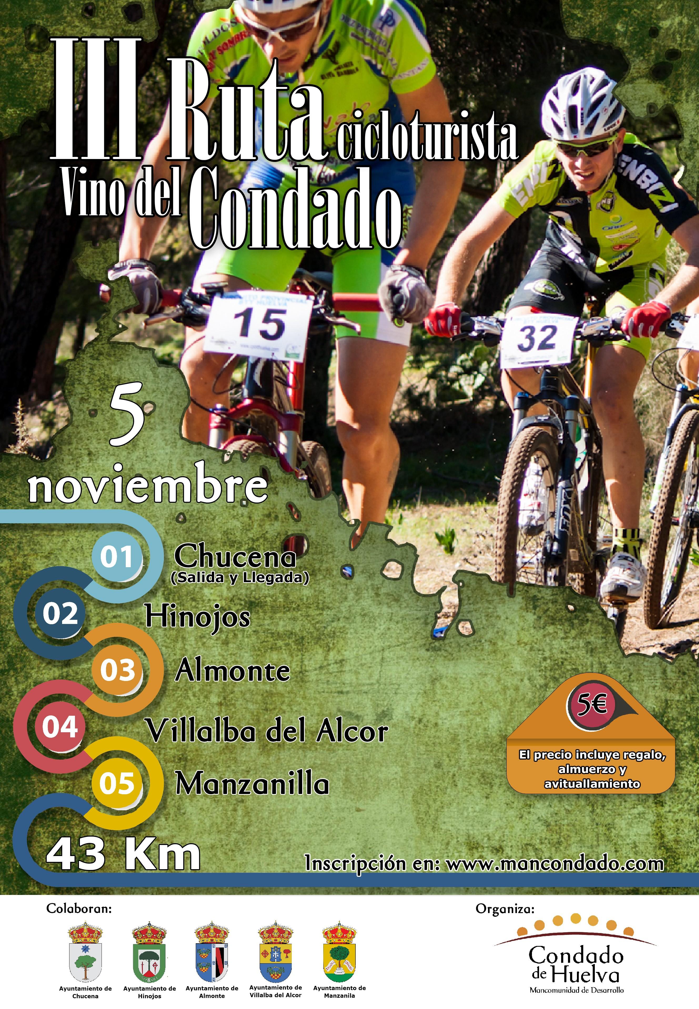 III RUTA CICLOTURISTA VINO DEL CONDADO Ciclismo