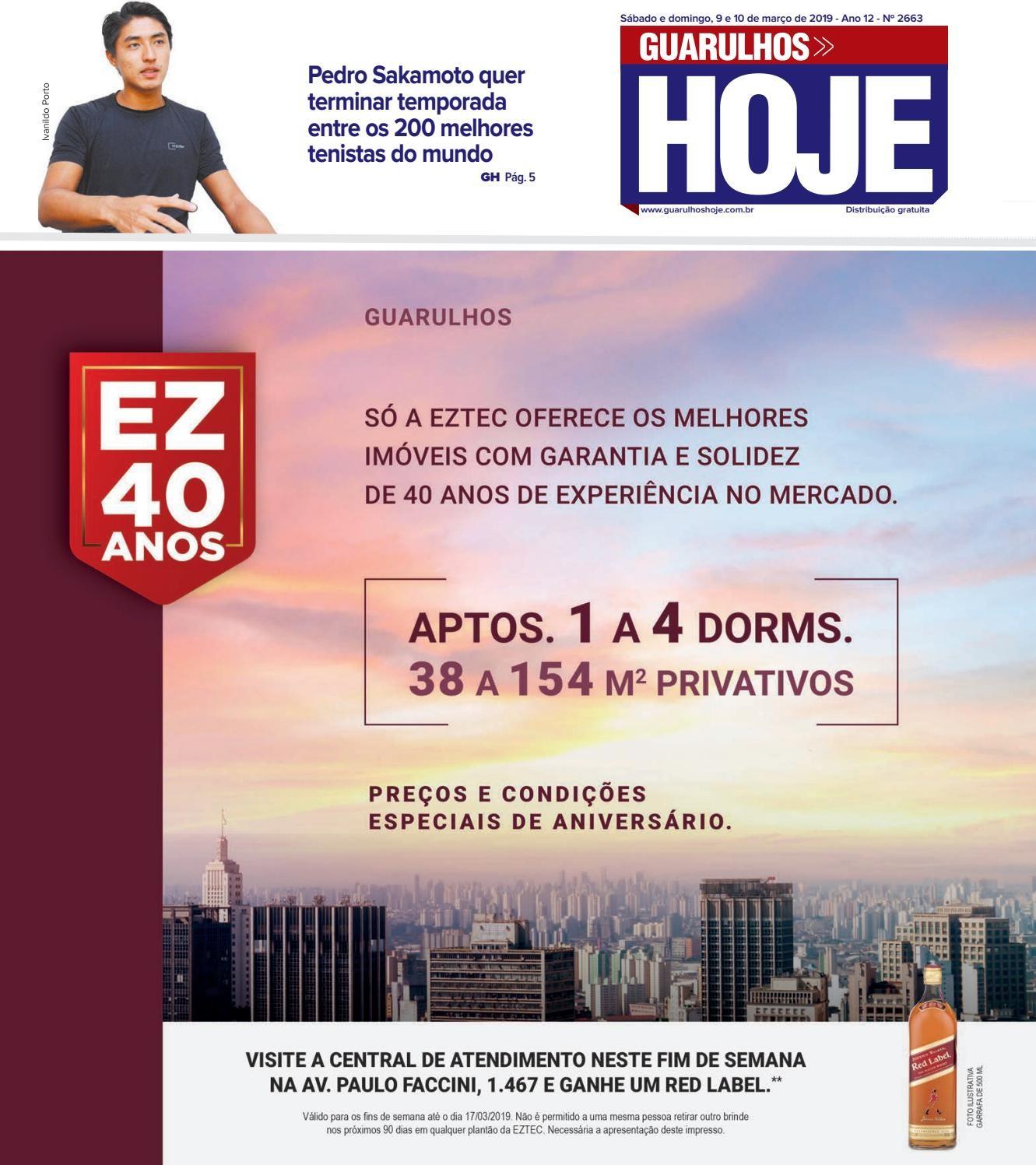 Calendario Escolar 2019 Goias Recientes Guarulhos Hoje 2663 9 E 10 03 2019 by Jornal Guarulhos Hoje issuu Of Calendario Escolar 2019 Goias Actual Kalender 2019 2020 Hessen