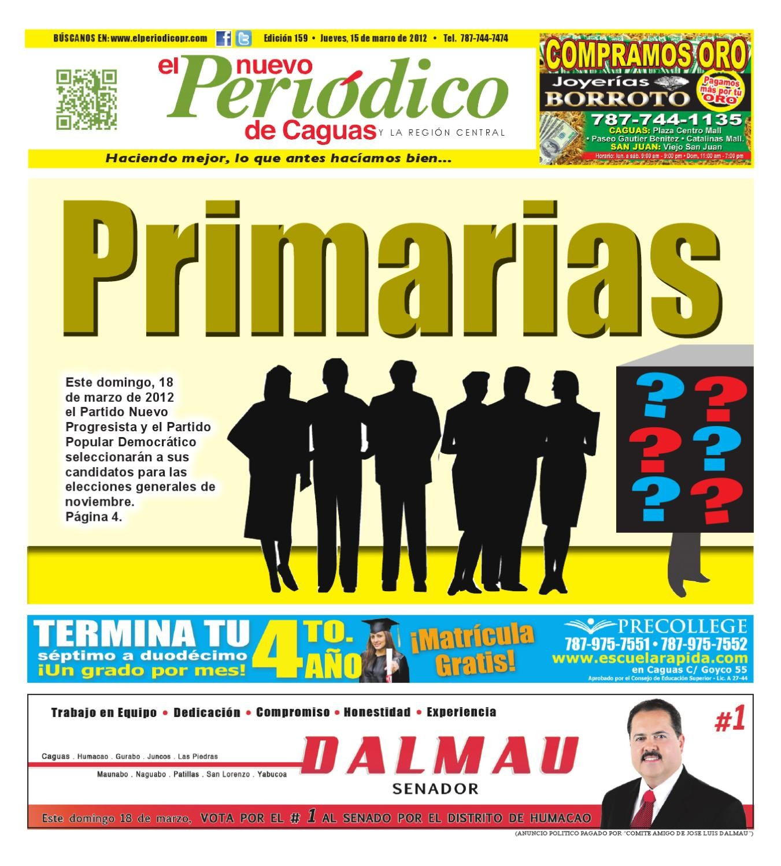 EL Nuevo Peri³dico de Caguas 159 by El Nuevo Periodico de Caguas issuu