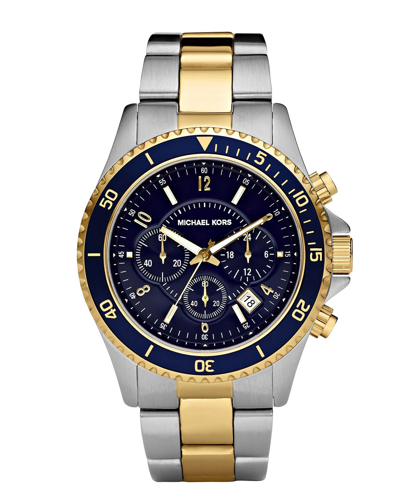 love this nautical inspired men s MK watch