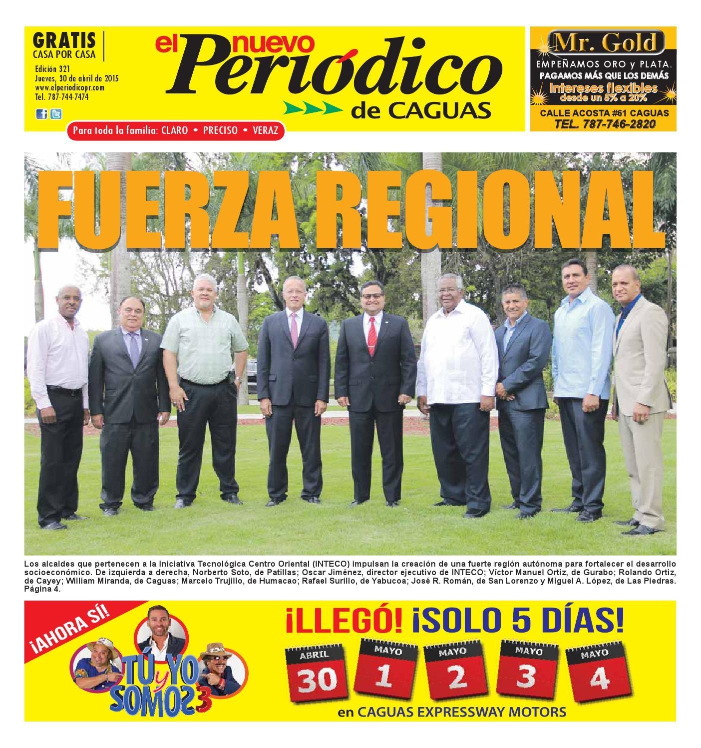 El Nuevo Peri³dico 321 by El Nuevo Periodico de Caguas issuu