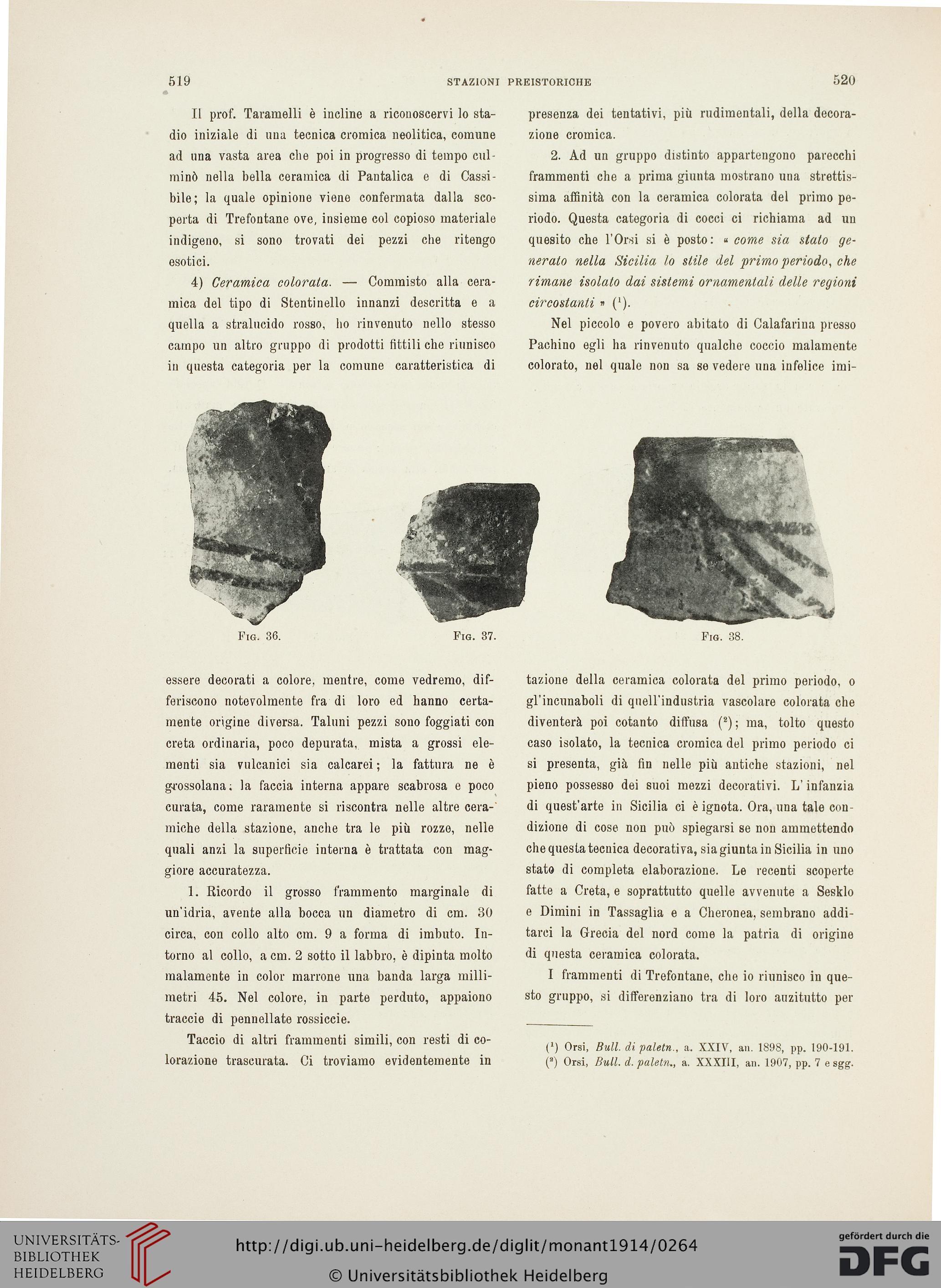 Accademia Nazionale dei Lincei Rom [Hrsg ] Monumenti antichi 23 1914