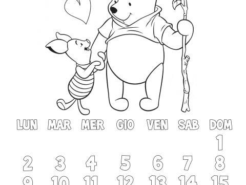 Calendario Mensile 2019 Xls Más Actual Calendario Bambini Da Stampare