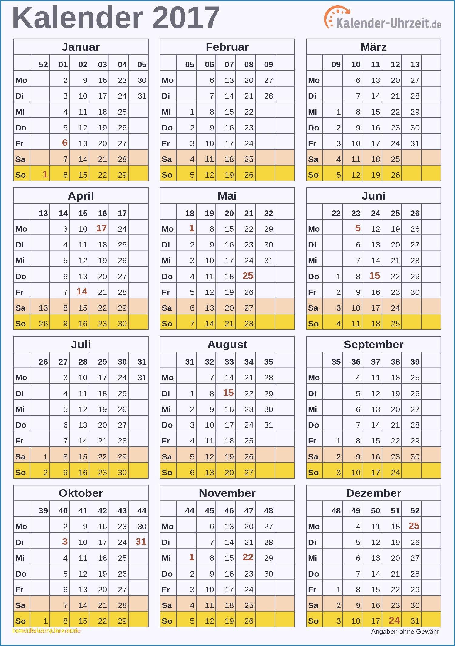 Unglaublich Kalender 2018 Zum Selbst Gestalten