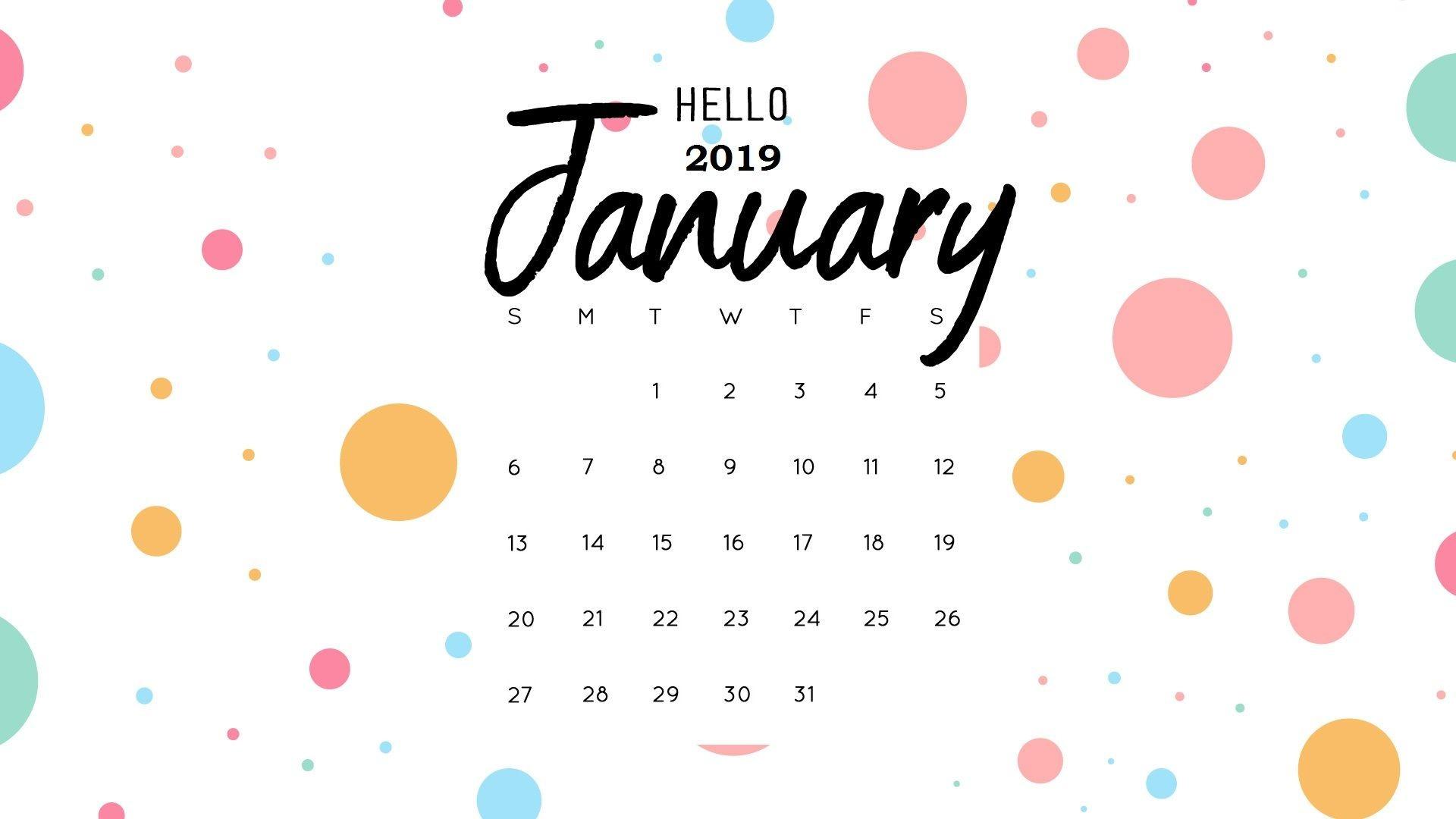 january 2019 calendar free pdf excel word free