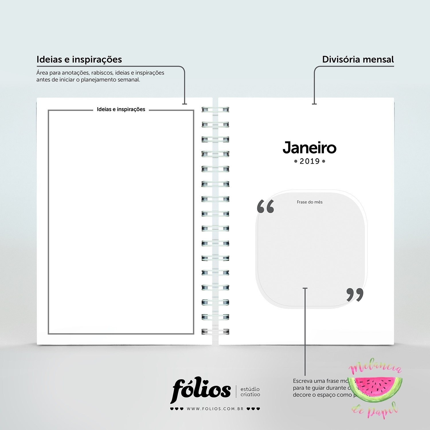 planner be happy 2019 mono planner semestral 2019