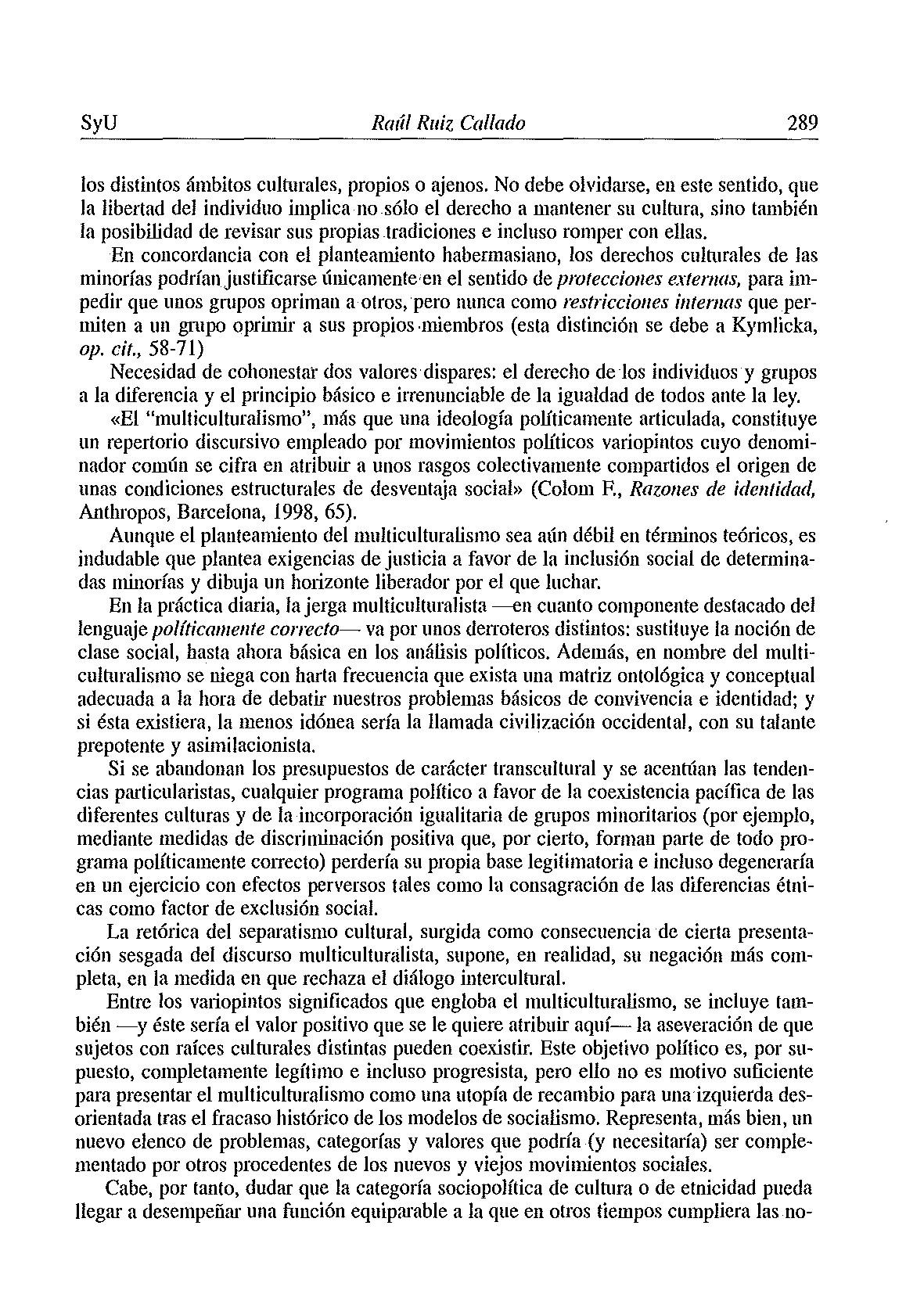 """y I Socieda5J PRESENTACI""""N PARA UN DIAGN""""STlCO DE LA SOCIEDAD ESPA'OLA XXVI PDF"""