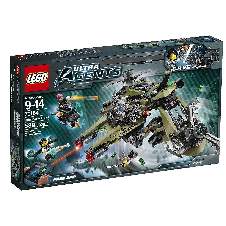 LEGO Agents Hurrikan überfall ormbsc2072 LEGO plete Sets & Packs