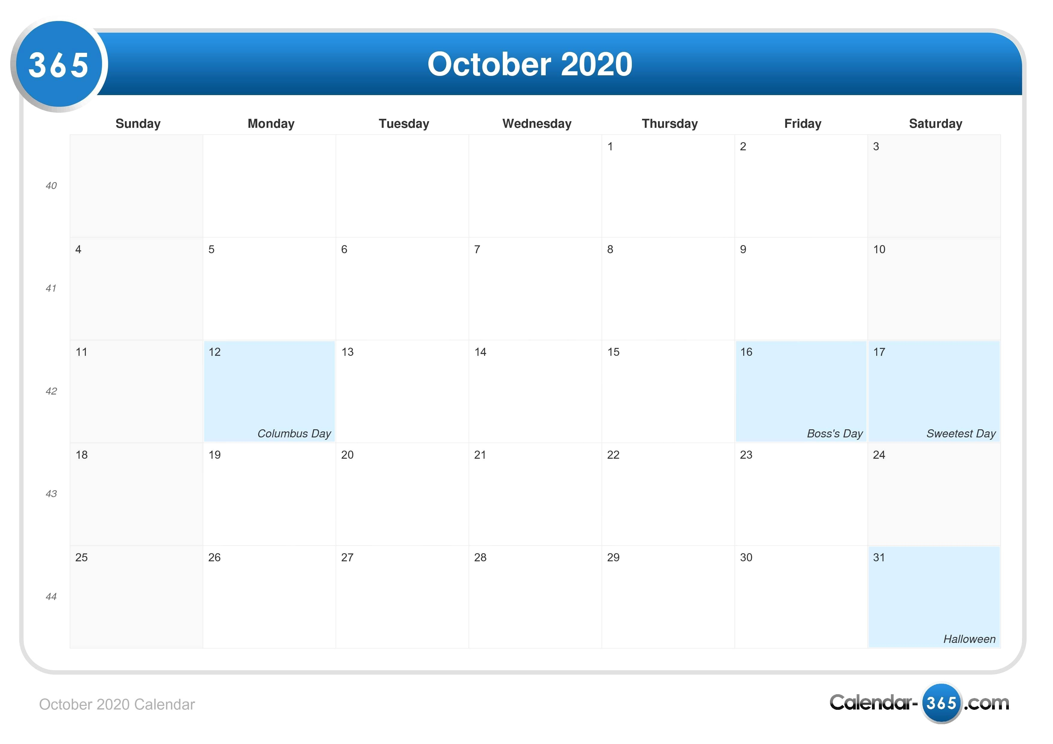 Calendar 2019 Colombia Festivos 2020 Más Arriba-a-fecha October 2020 Calendar 1015