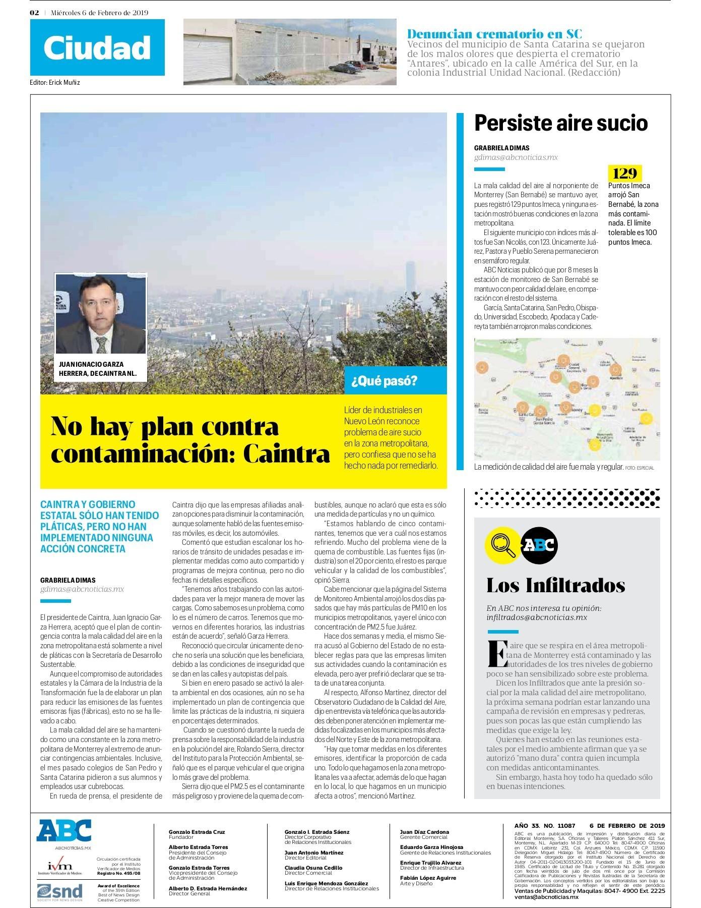 Peri³dico ABC 6 de Febrero de 2019 Pages 1 16 Text Version