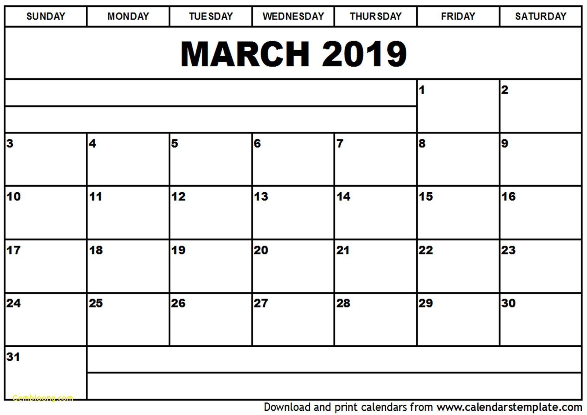 Free 2019 Printable Monthly Calendar Unique Feb Calendar 2019 Printable Beautiful Month Od December Calendar