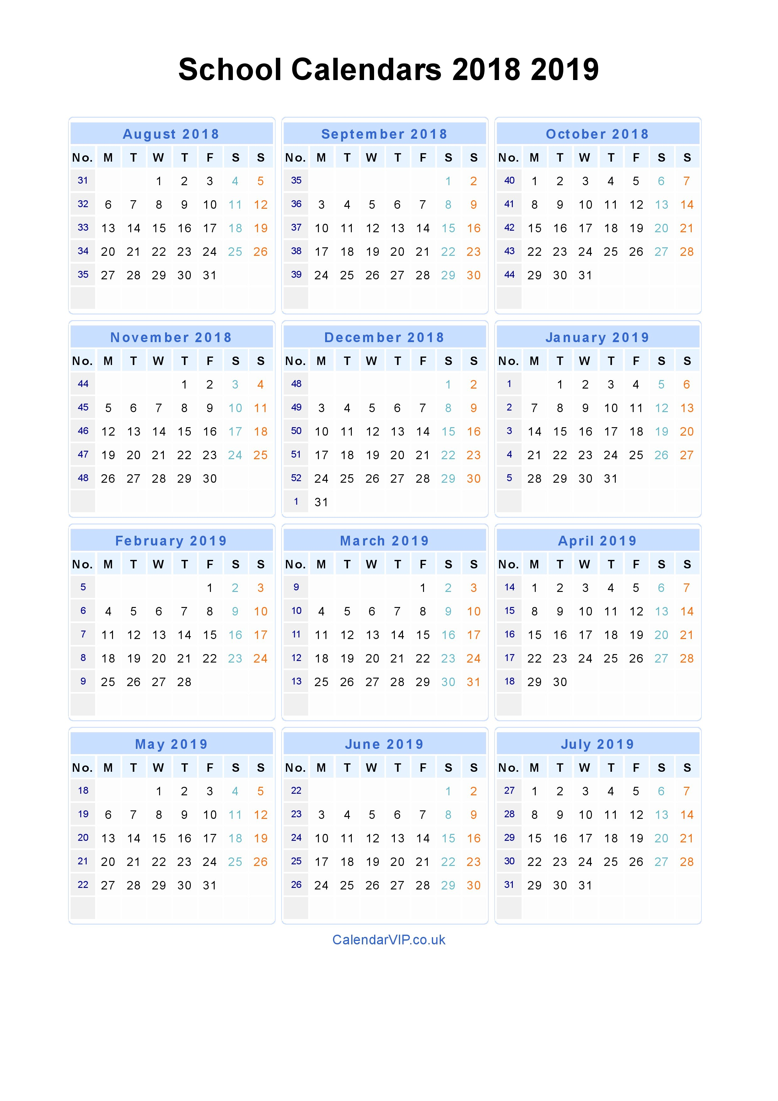 Calendar 2019 Printable Calendar Templates 2019 Calendar Uk Monthly Printable Calendar