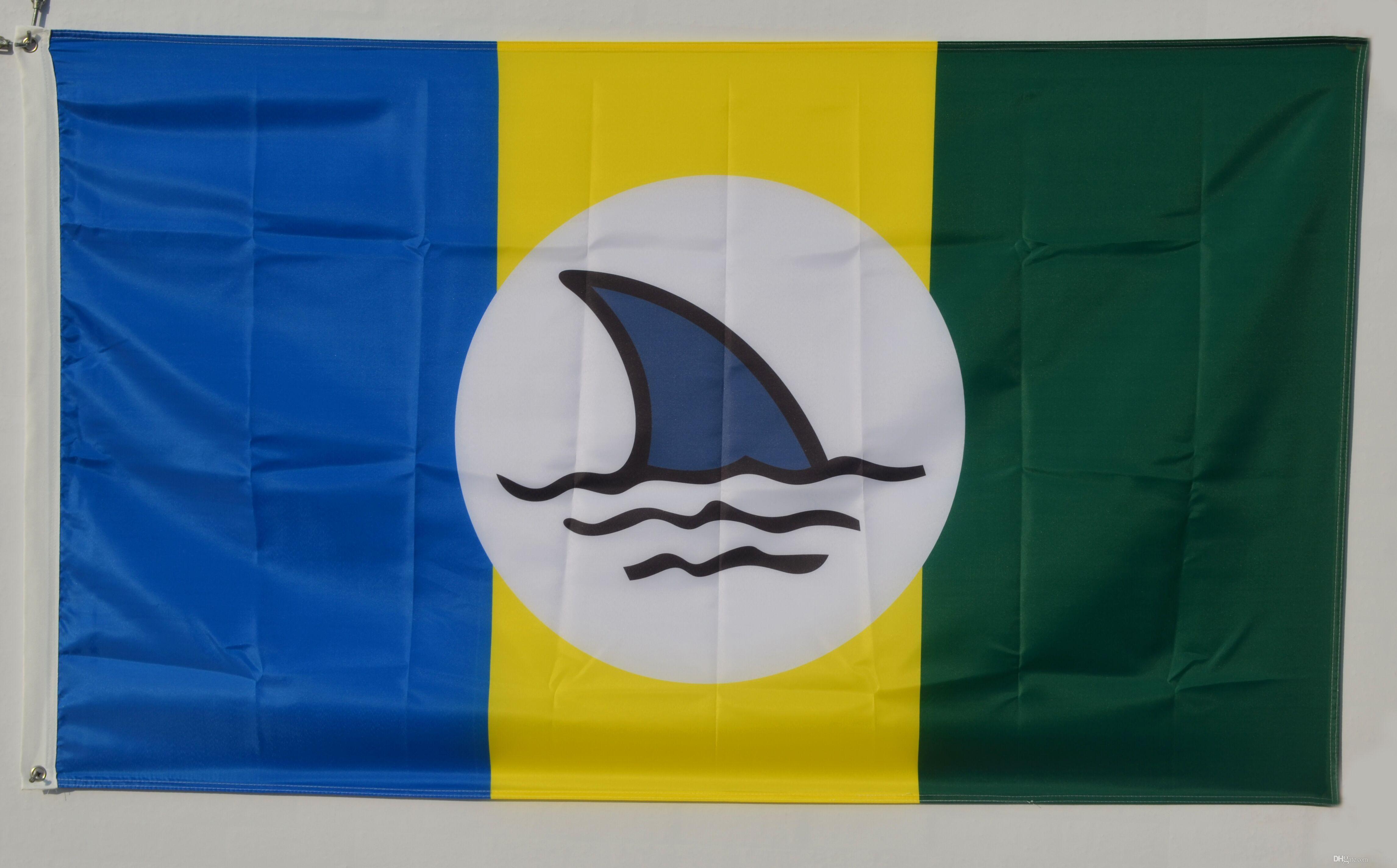 2019 JIMMY BUFFETT WEL E TO FINLAND FLAG Landshark Margaritaville Fins Up Boat Banner From Kc flag $4 23