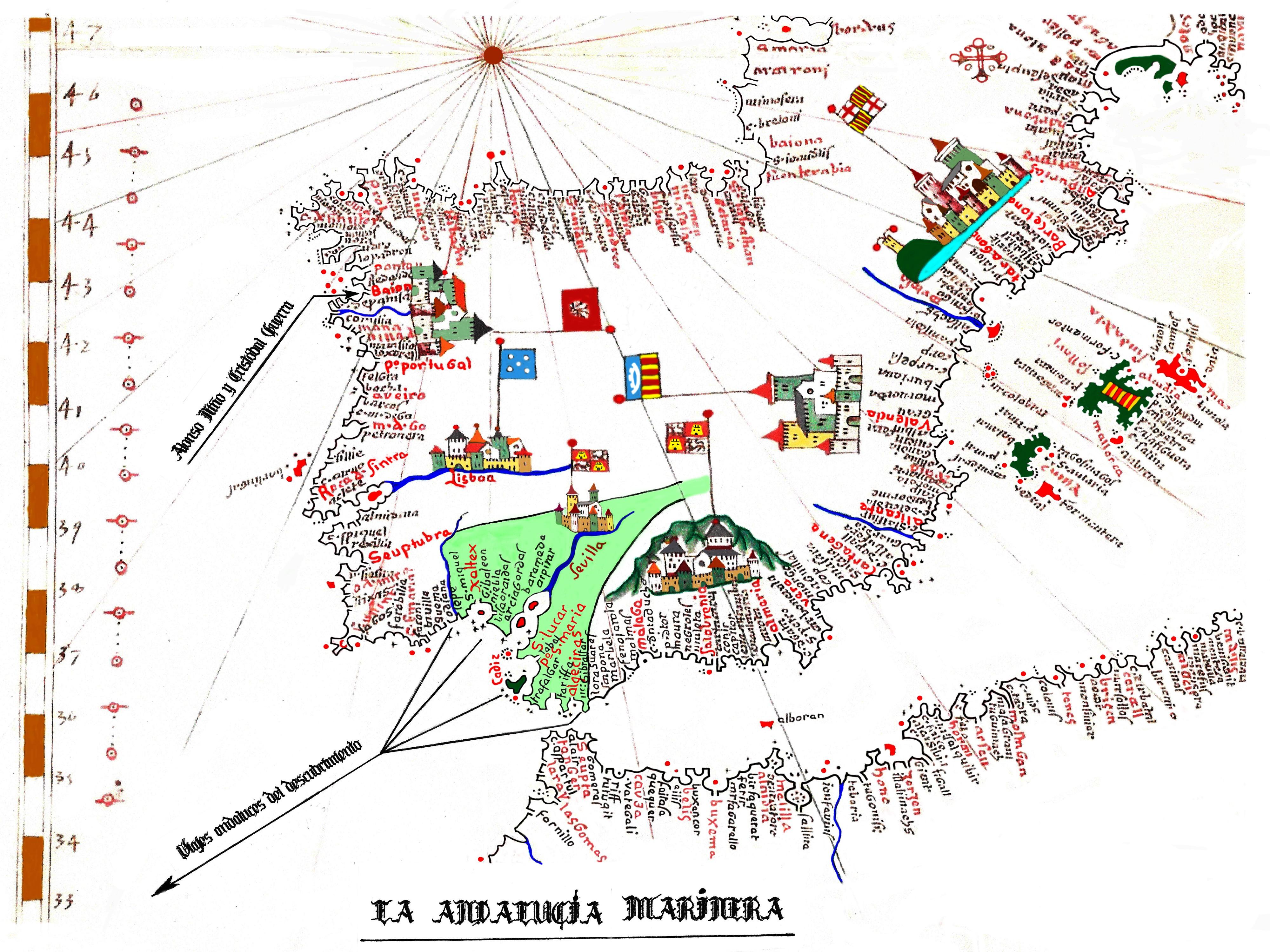 FIG 3 La Baja Andaluca Marinera