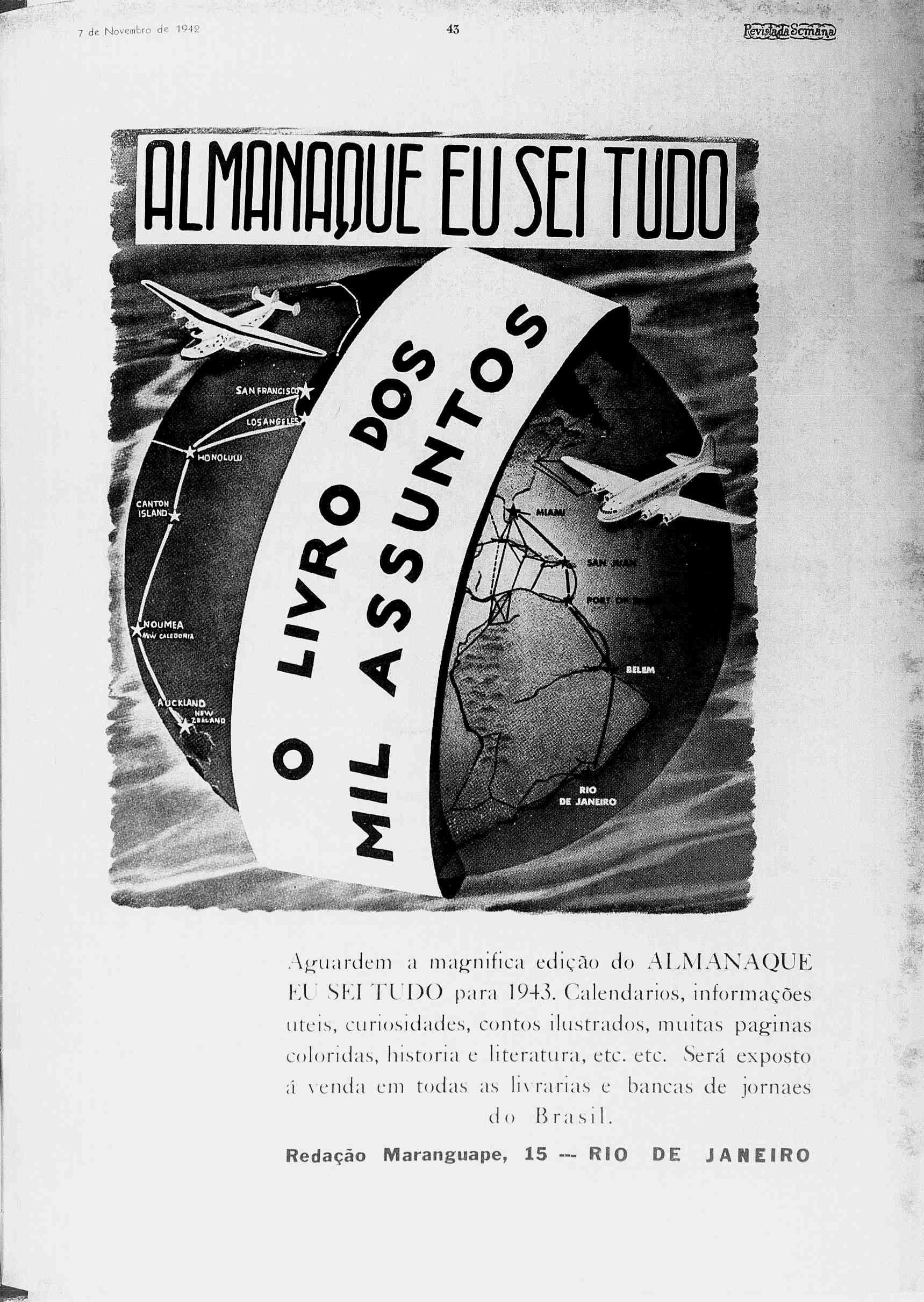 7 de Novembro de 1942 43 o yz oµh yi