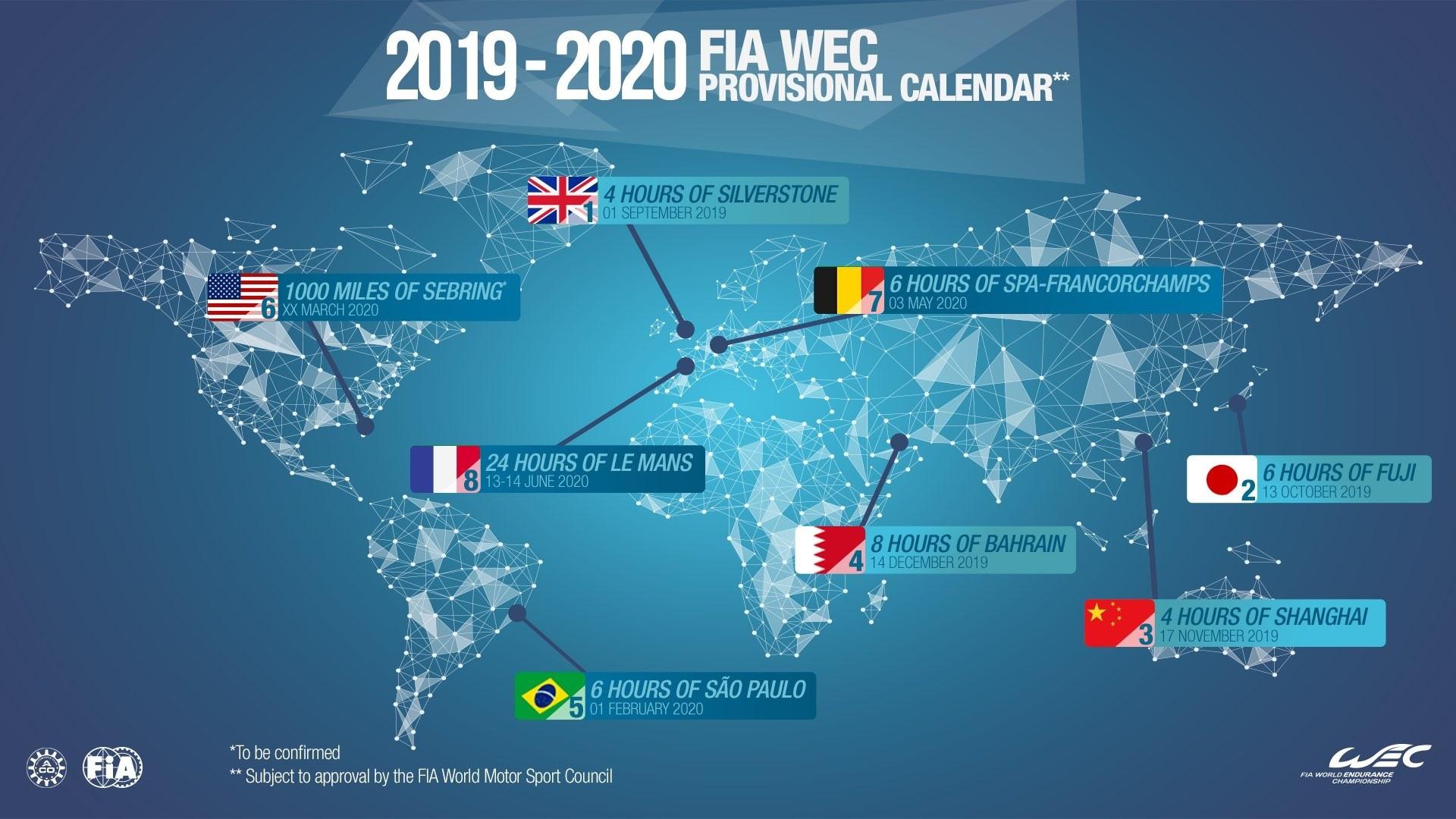 RIO DE JANEIRO Notcia quente o Brasil foi enfim confirmado no calendário bienal do Mundial de Endurance FIA WEC da temporada 2019 20 da peti§£o