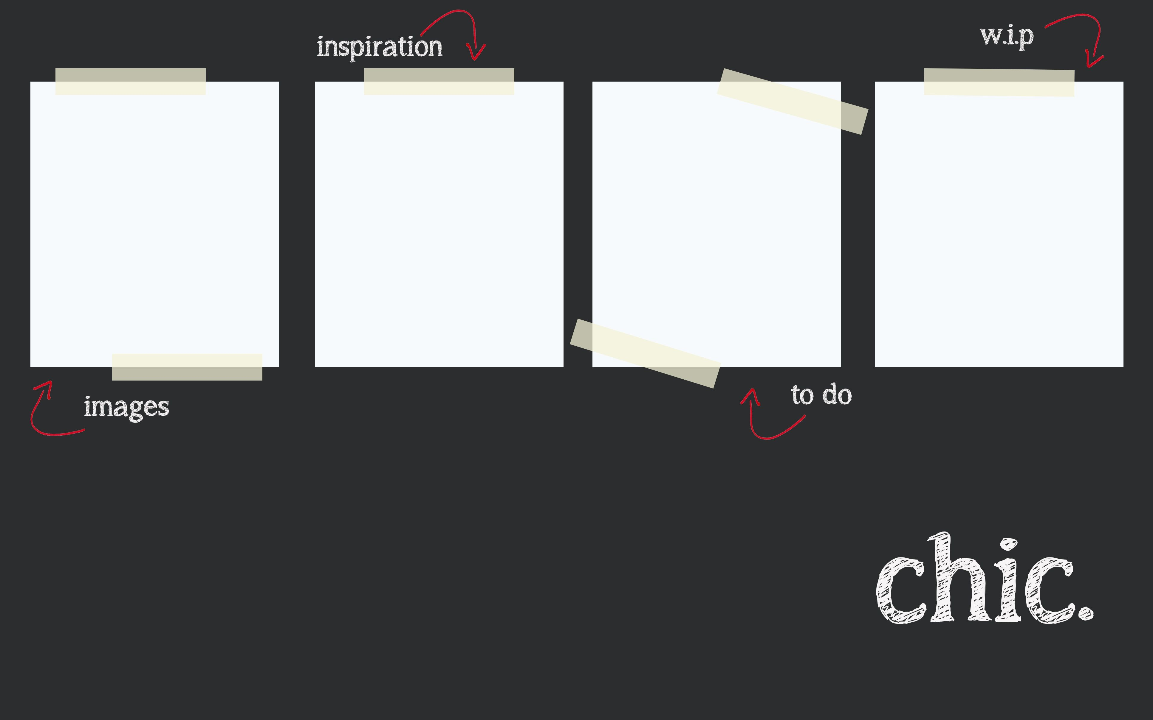 Chic Wallpaper Organization ideas