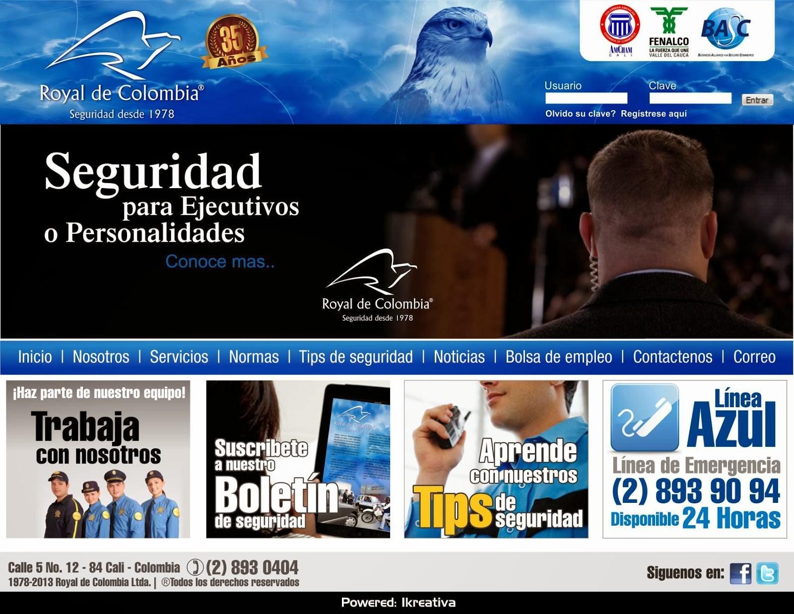 pag web royal de colombia 2 inicio