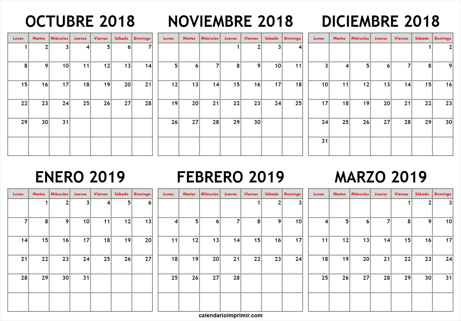 Calendario 2019 Colombia Almanaque 2020 Venezuela Más Recientes Calendario Febrero 2019 63ld Calendario Calendar March