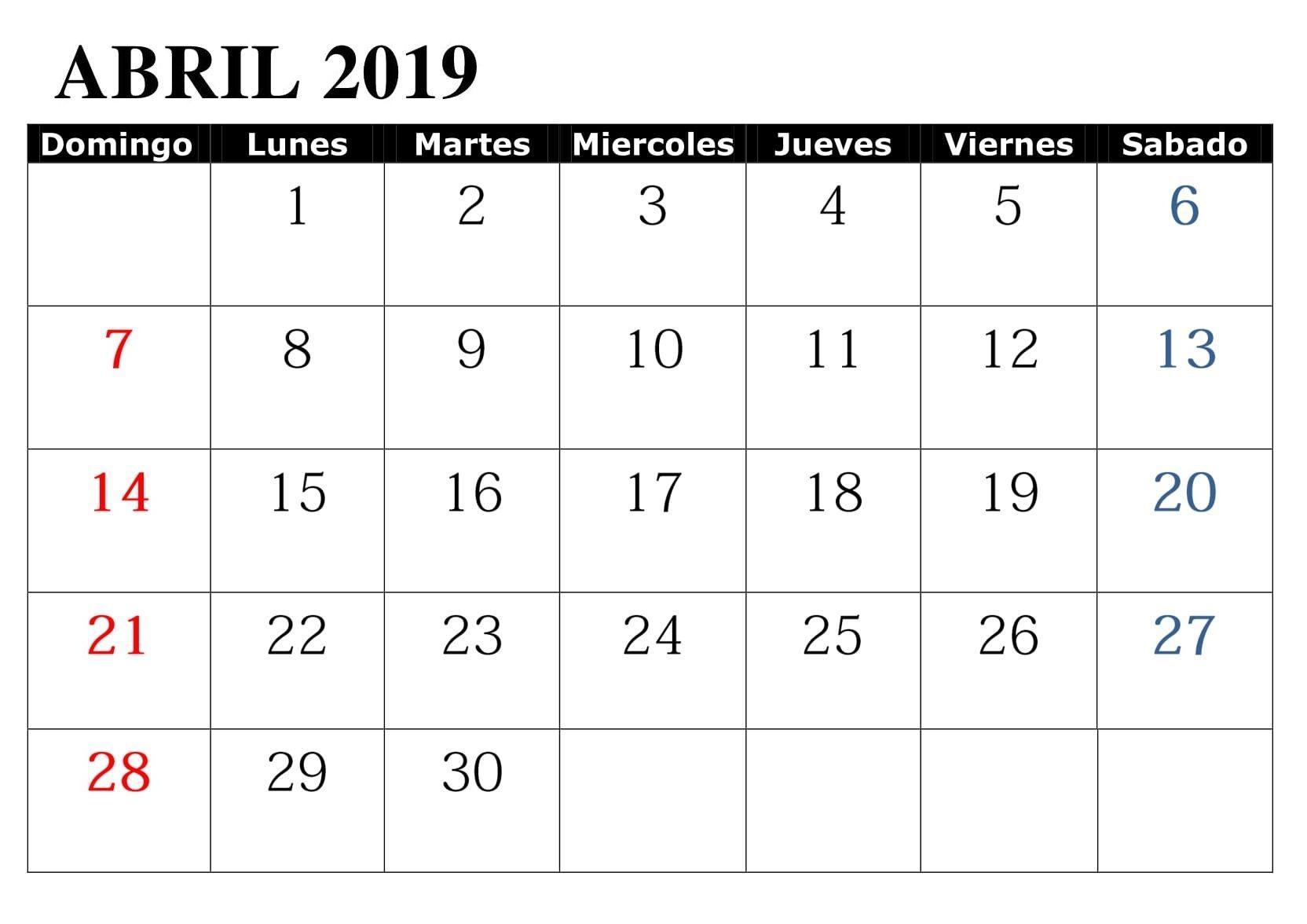 Calendario 2019 Colombia Word Más Recientemente Liberado Abril 2019 Con Festivos Word Calendario T Of Calendario 2019 Colombia Word Mejores Y Más Novedosos Esto Es A Menudo Calendario 2019 Colombia Enero