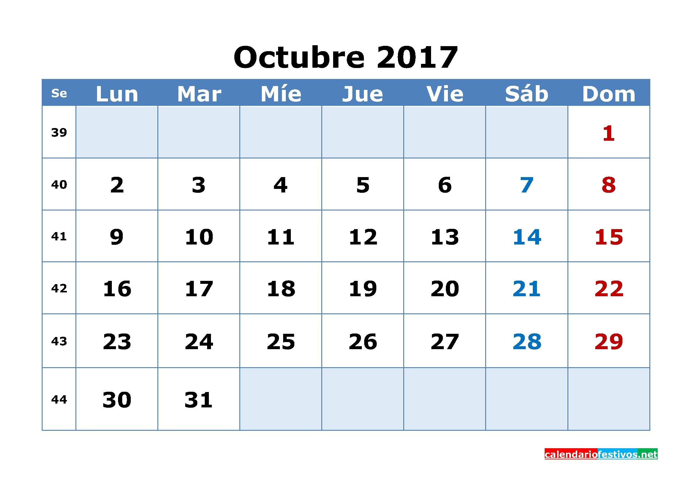 Mes De Septiembre 2017