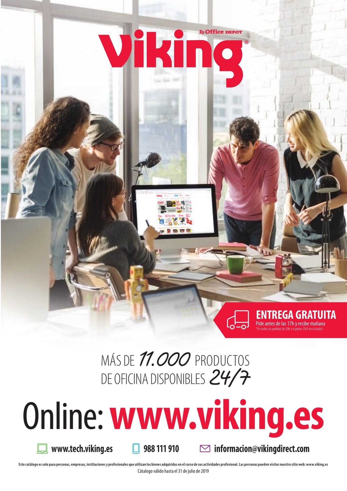1 Viking Novedades 2019 desde siempre por calendario 2019 con semanas