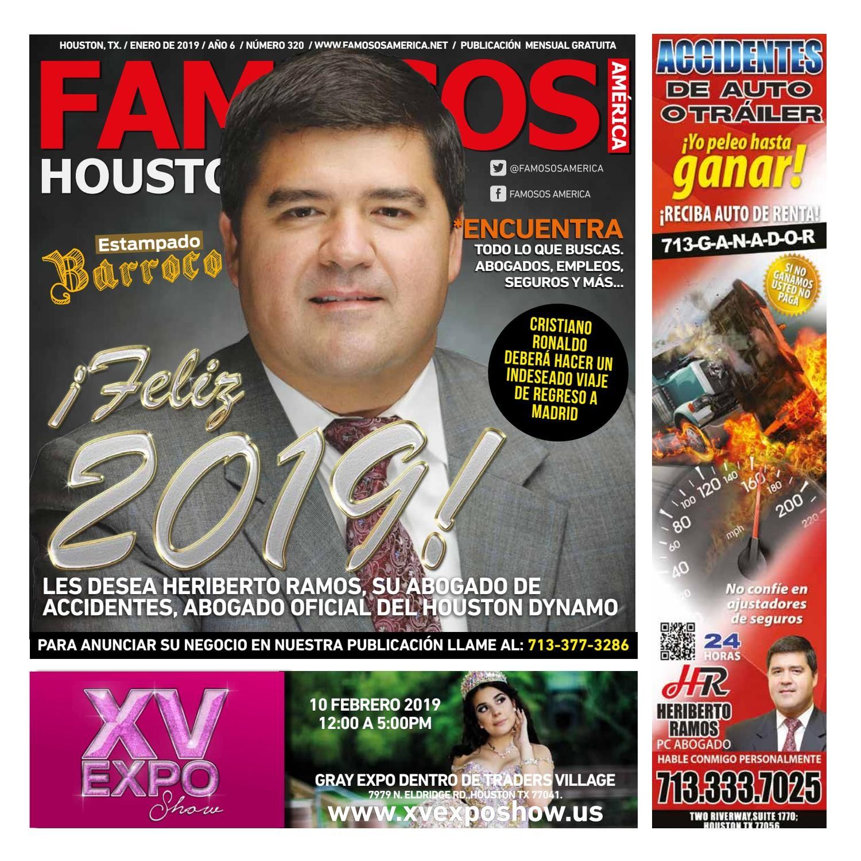 "Calendario 2019 Con Numero De Semanas 2020 ford Más Actual Famosos Houston Edici""n 320 by Famosos América issuu"