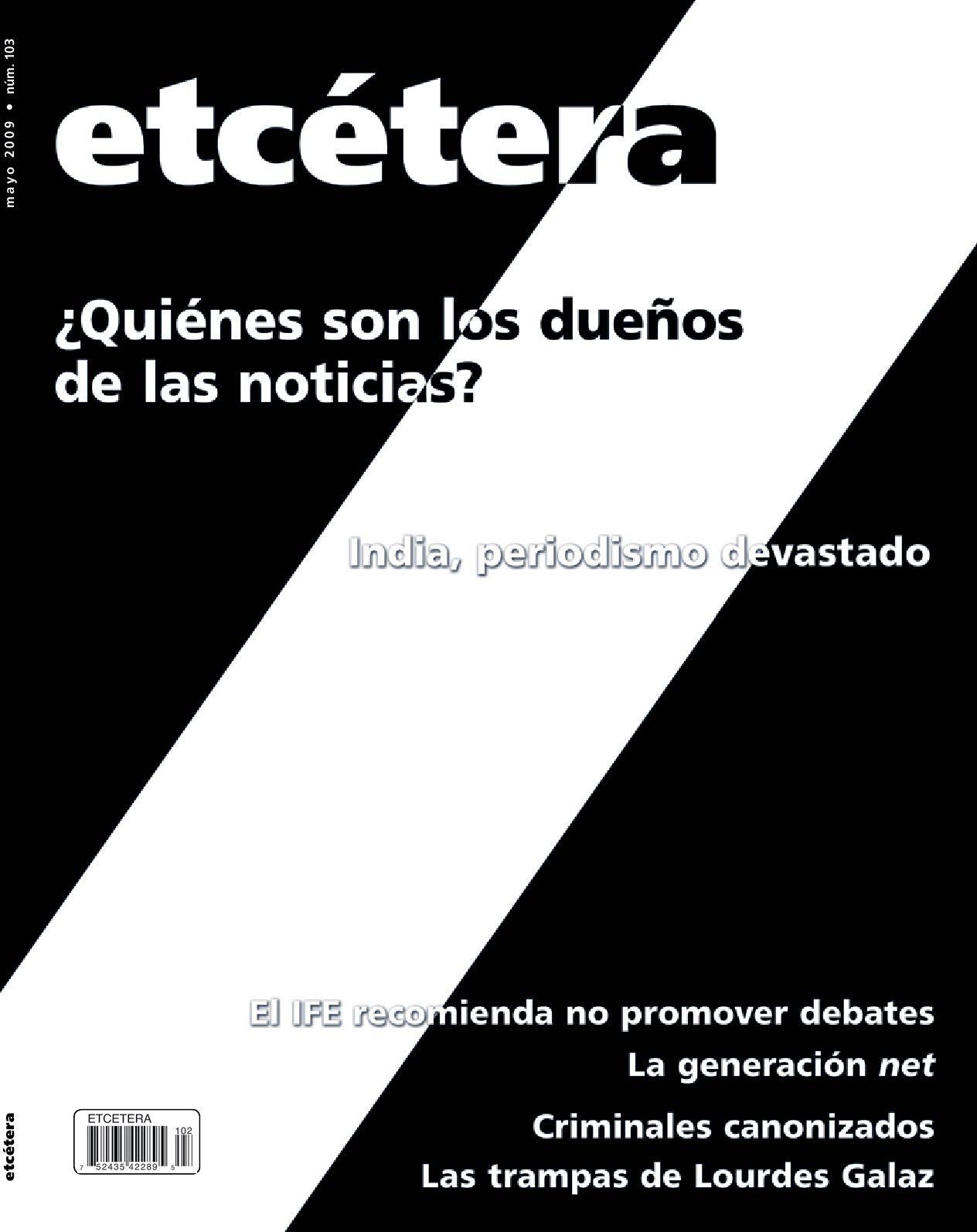 Calendario 2019 Con Semanas Numeradas Esperanza Más Reciente Etcetera Abril 2009 No 102 by Manuel Martinez ortiz issuu