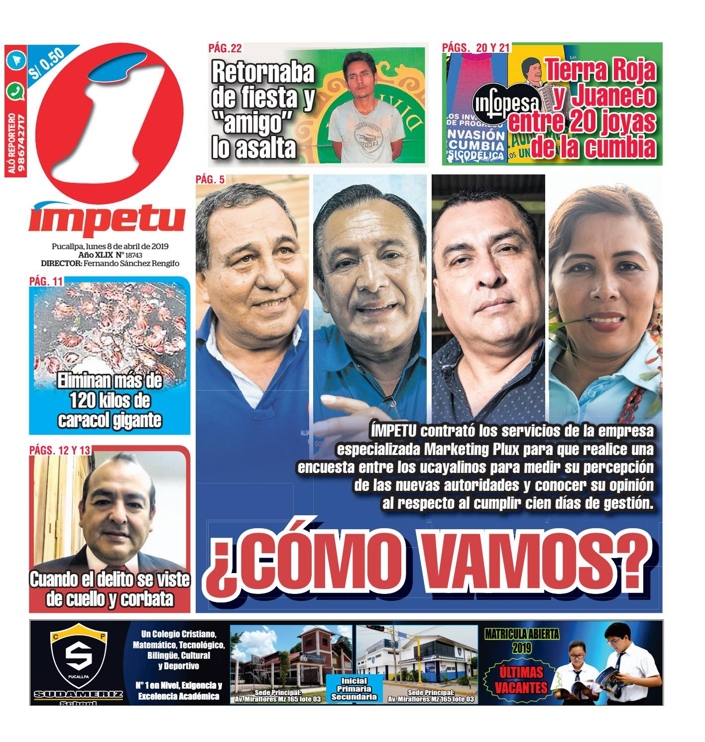 Calendario 2019 Con Semanas Y Festivos Colombia Calendario Más Recientemente Liberado mpetu Pucallpa 08 De Abril De 2019 by Diario mpetu issuu