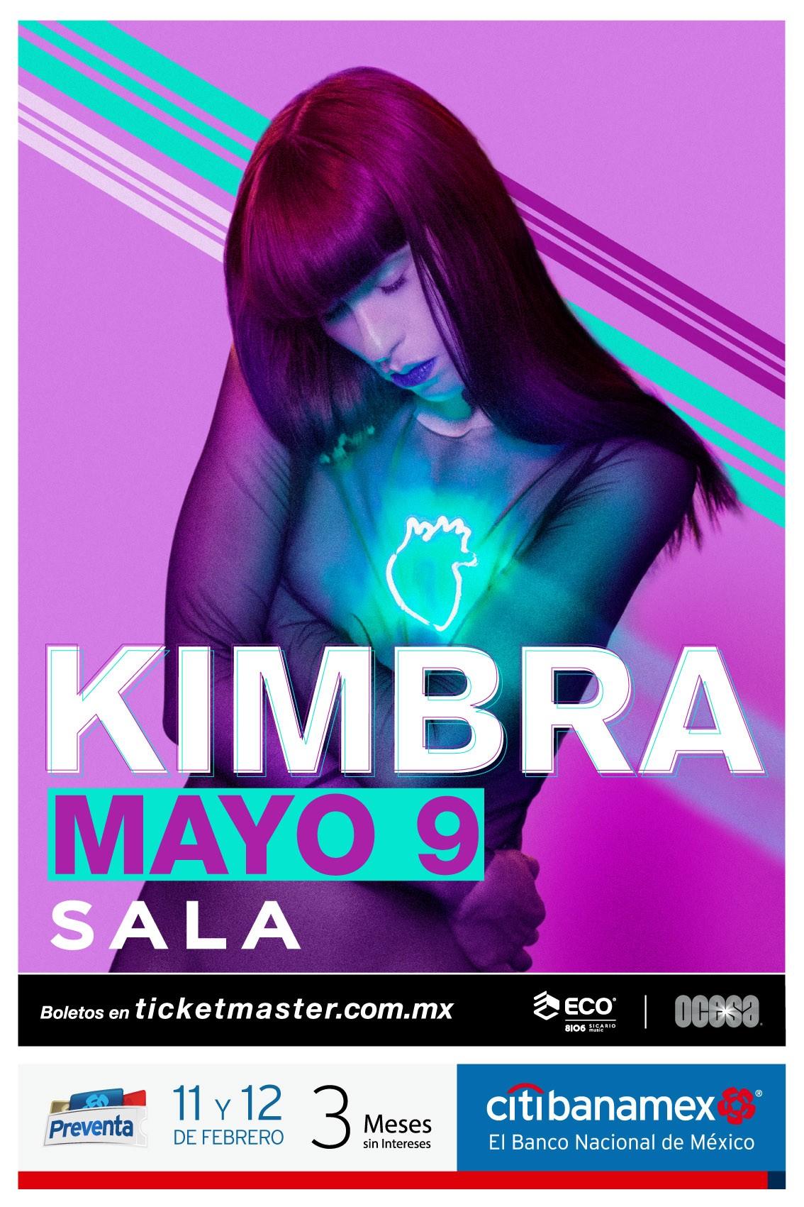 Kimbra México 2019