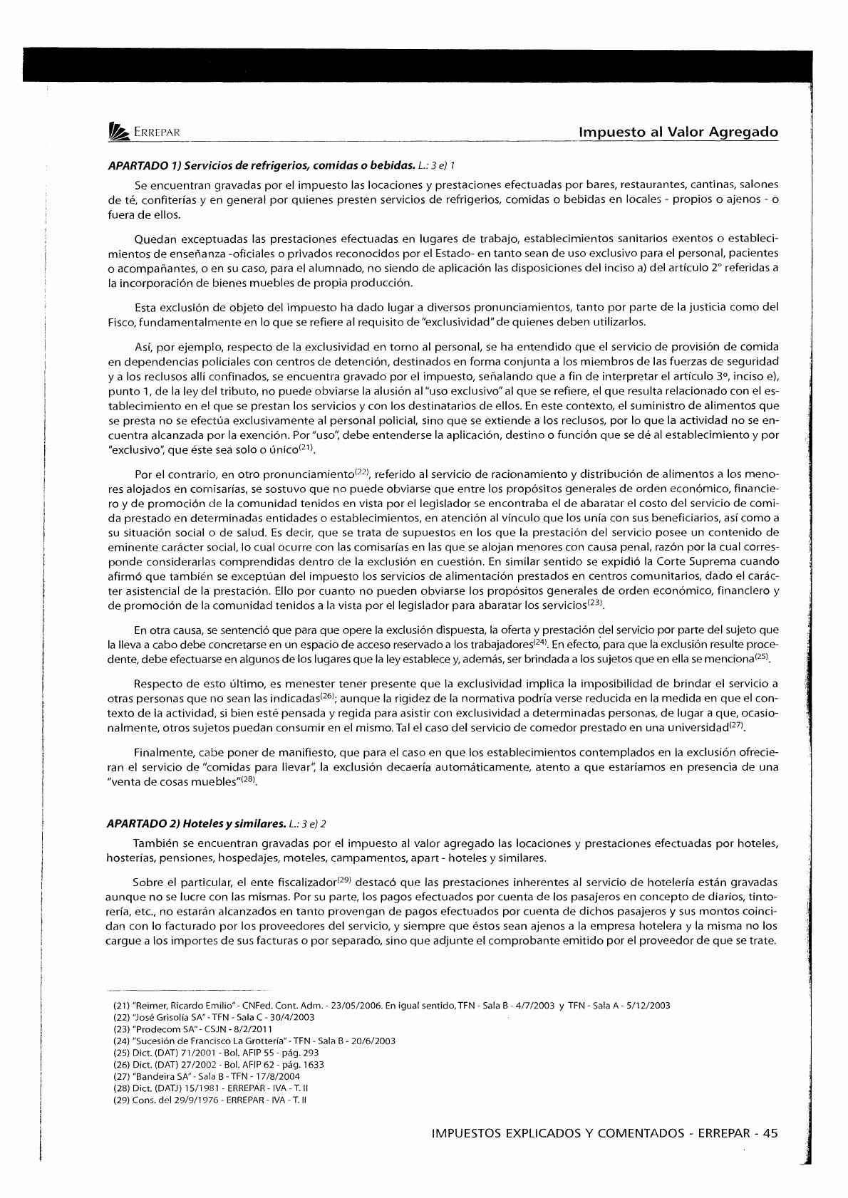 Apunte IVA ENTADA Teoria y Tecnica Impositiva II Contador UBA
