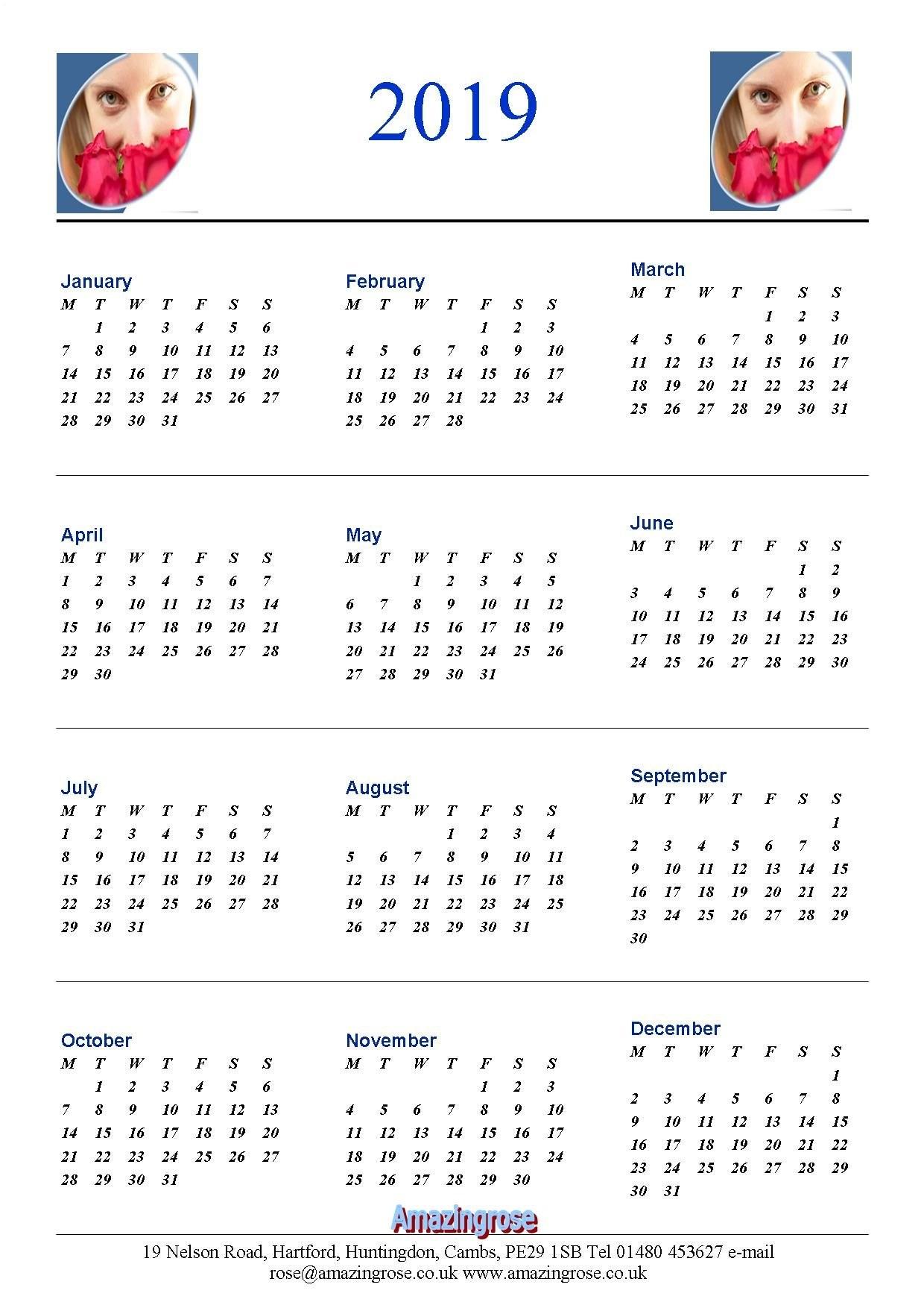MotoGP Autographed Calendar 2018 Portrait A4