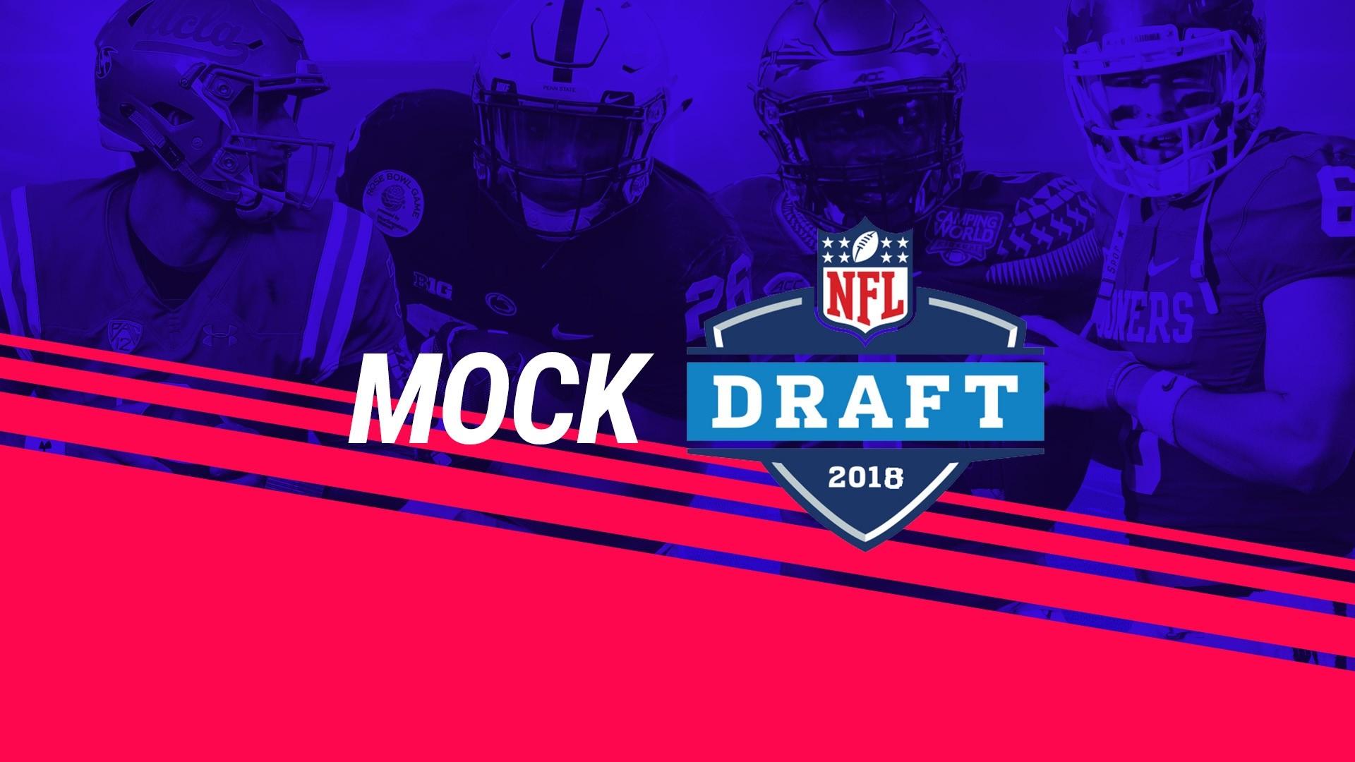 Calendario Brasileiro De 2019 Draft Más Arriba-a-fecha Nfl Draft 2018 Mock Draft