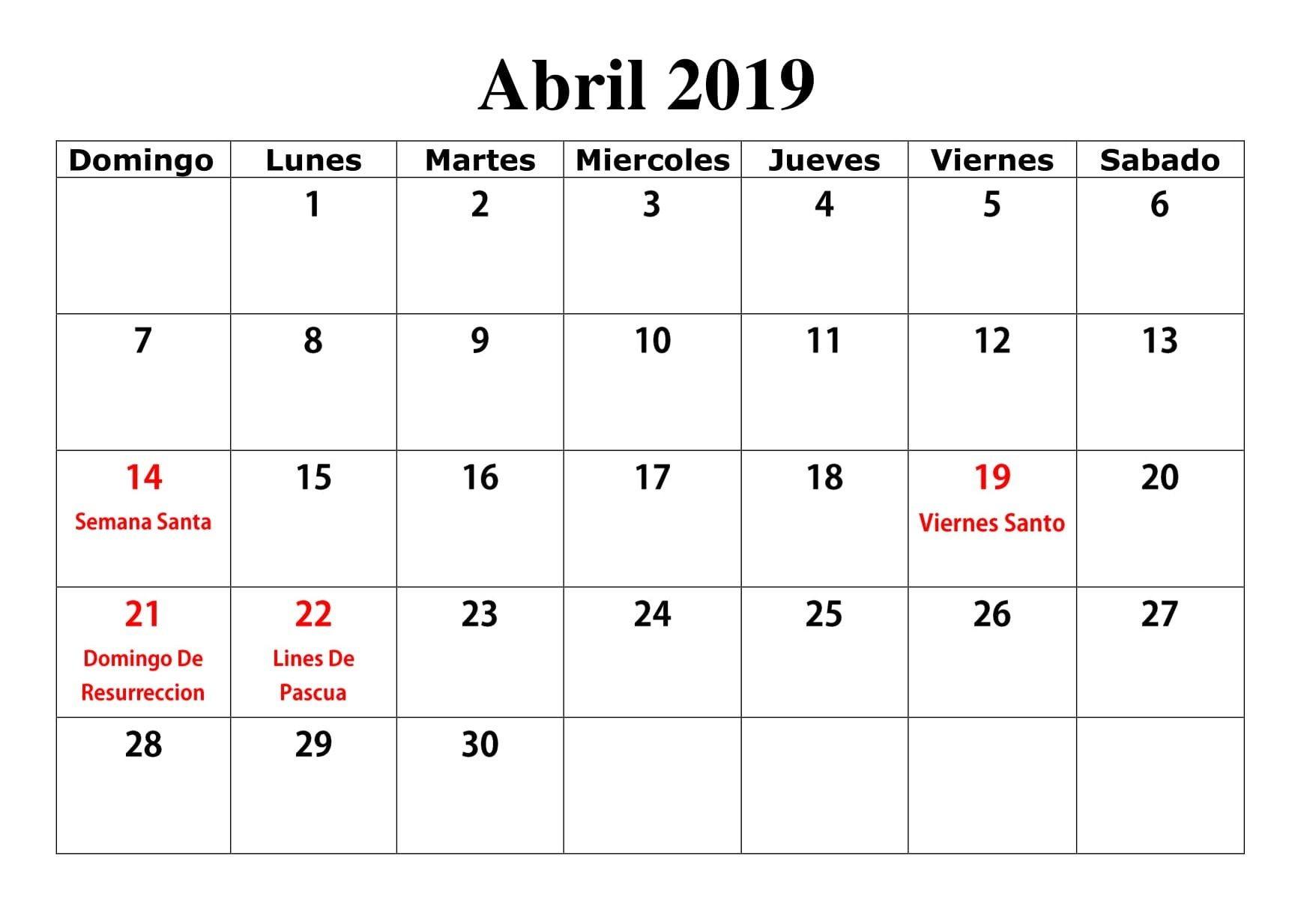 Calendario Con Festivos Del 2019 En Colombia Más Populares Abril 2019 Con Festivos Word Calendario T Of Calendario Con Festivos Del 2019 En Colombia Más Recientemente Liberado Determinar Calendario 2019 De Colombia Con Festivos