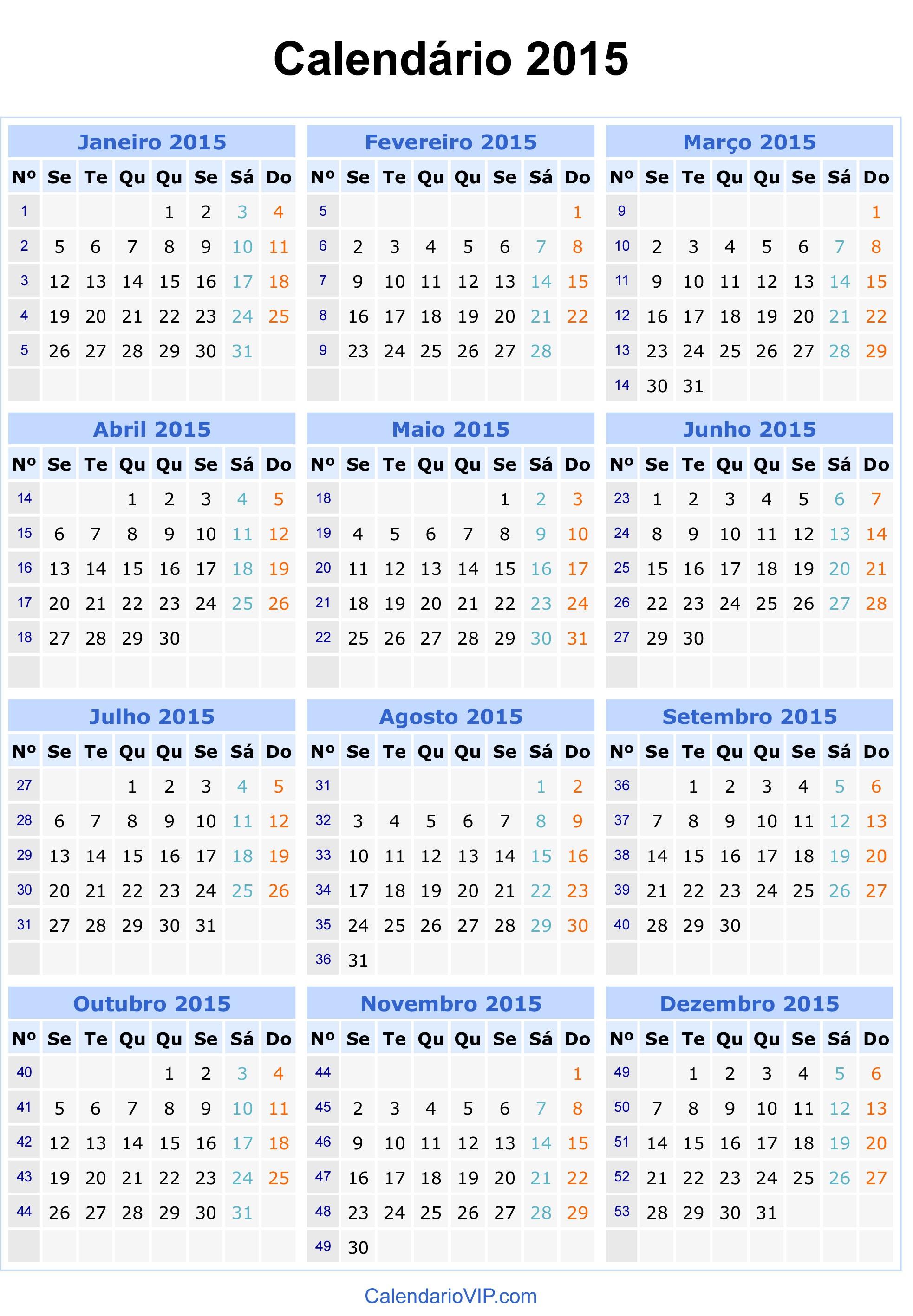 25 Unique Calendario 2015