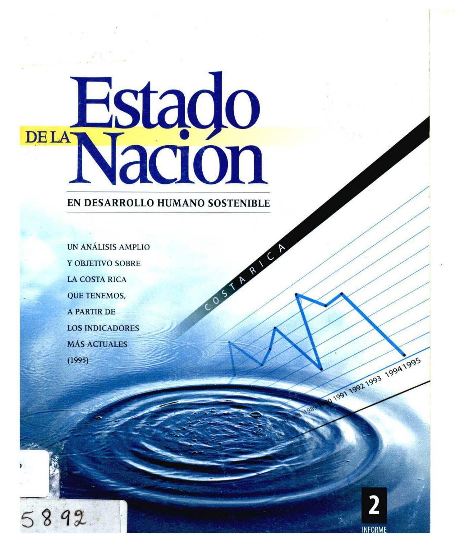 Informe Estado de la Naci³n 2 • 1996 by Programa Estado de la Naci³n issuu