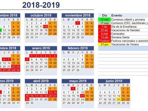 Calendario Escolar 2019 Semana Santa Labuga Más Reciente Anpa Campolongo Calendario Curso 2018 2019