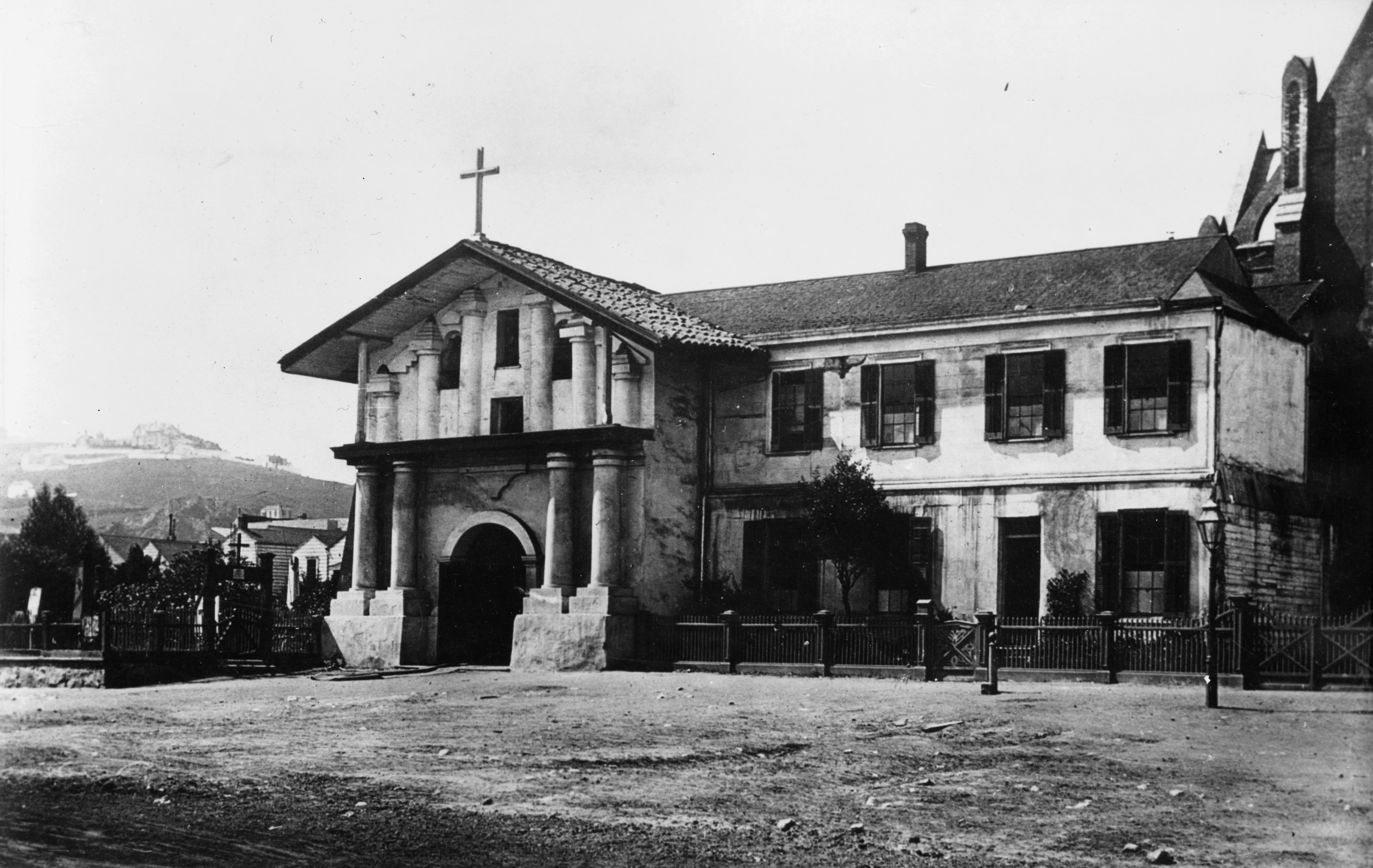 Archivo Mission San Francisco de Asis old