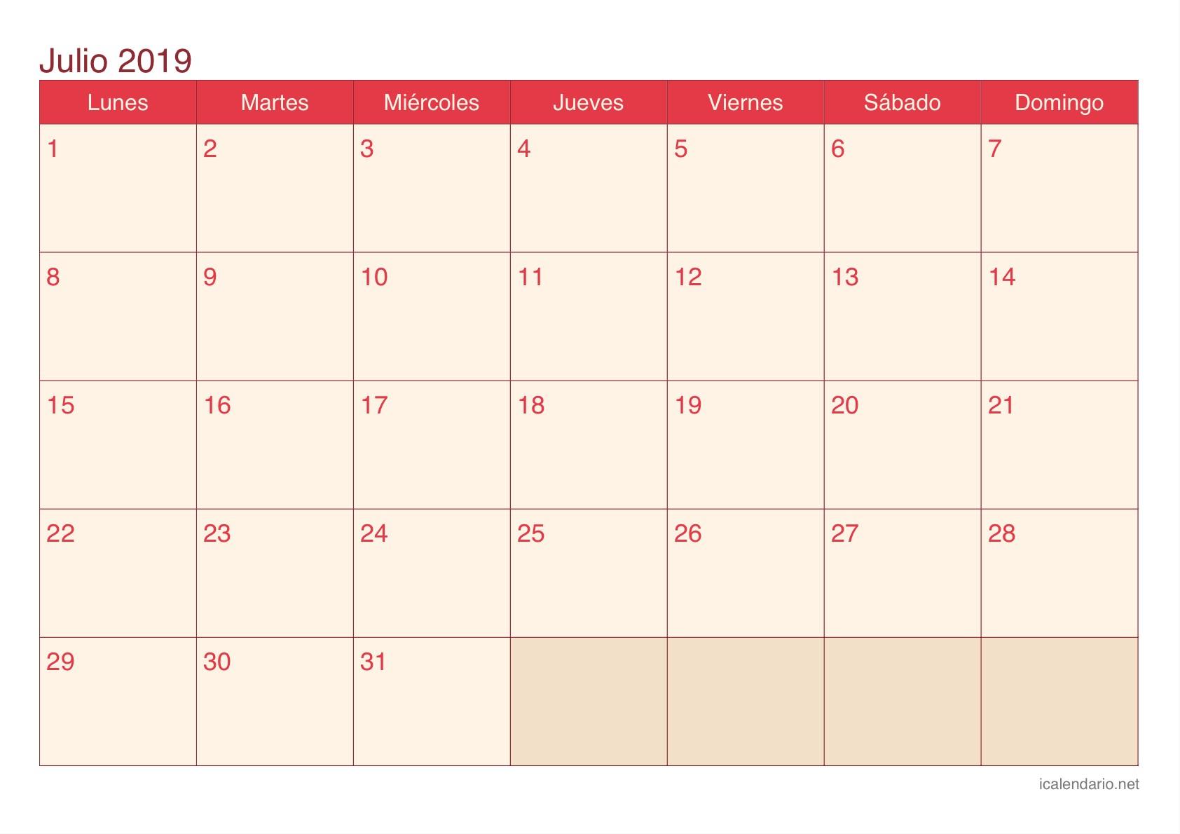 Bahrain Pavilion Guide calendario julio agosto septiembre 2019