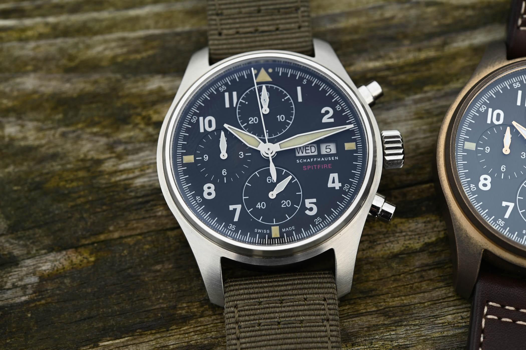 IWC Pilot s Watch Chronograph Spitfire Steel 41mm IW SIHH
