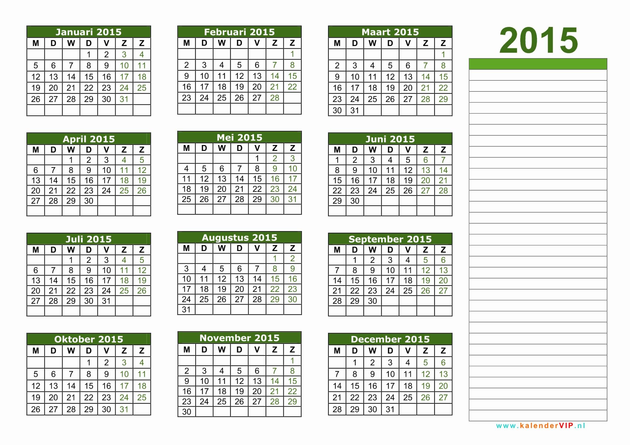 kalender 2015 excel oder kalender 2015 jaarkalender en maandkalender